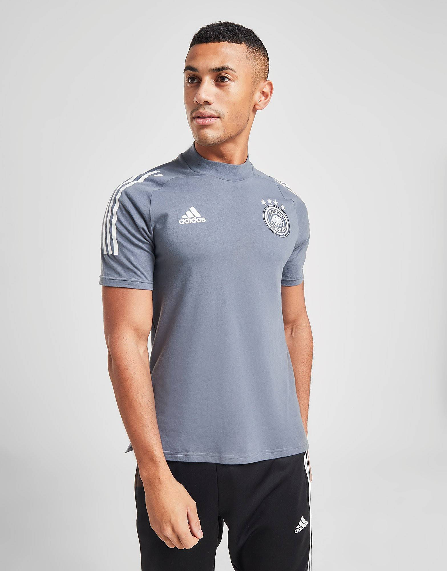 Image of Adidas Germany T-paita Miehet - Mens, Harmaa