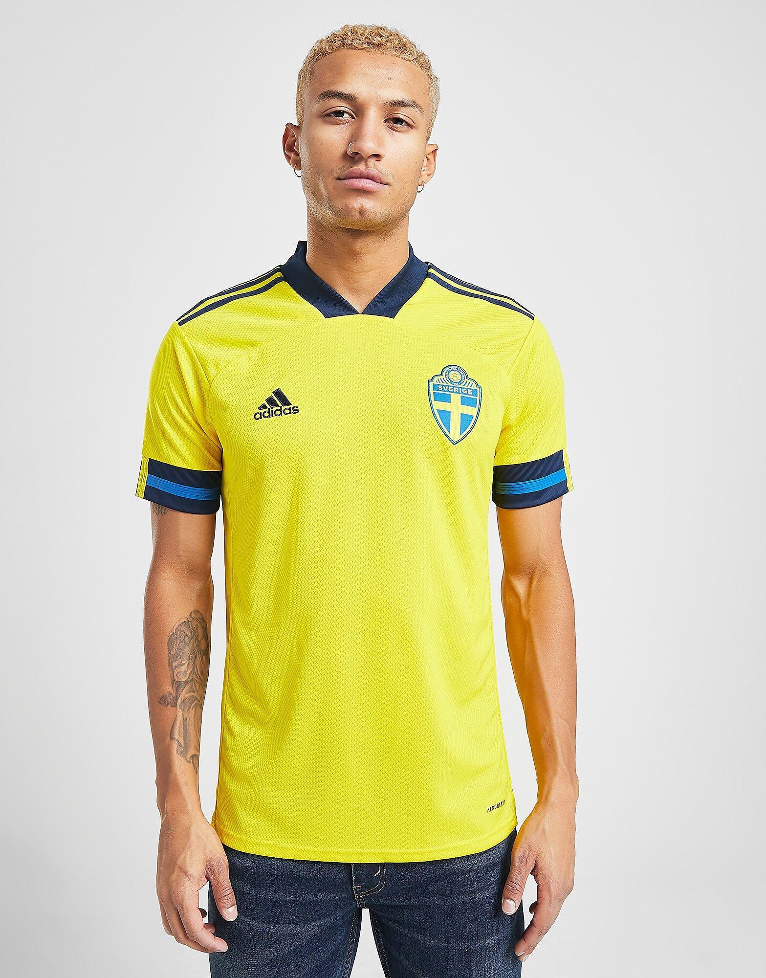 Image of Adidas Sweden 2020 -kotipaita Miehet - Mens, Keltainen