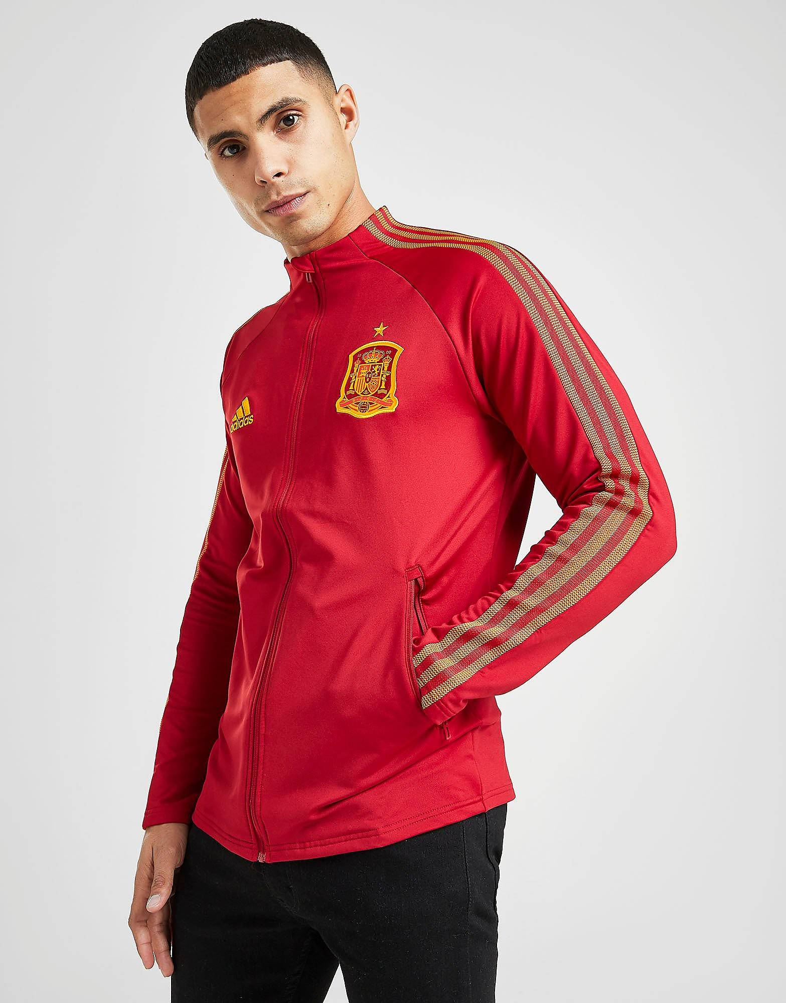Image of Adidas Spain Anthem Takki Miehet - Mens, Punainen