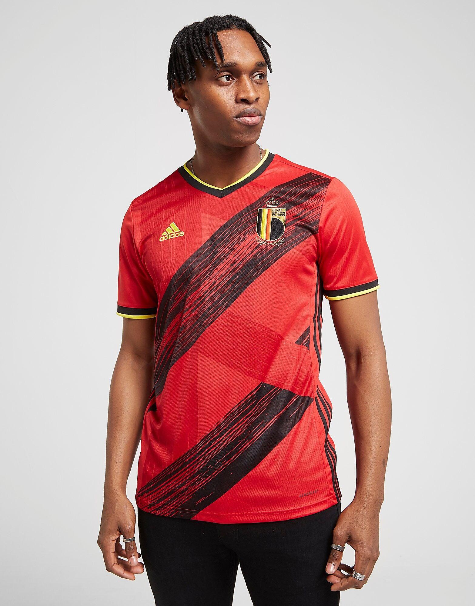 Image of Adidas Belgium 2020 Kotipaita Miehet - Mens, Punainen