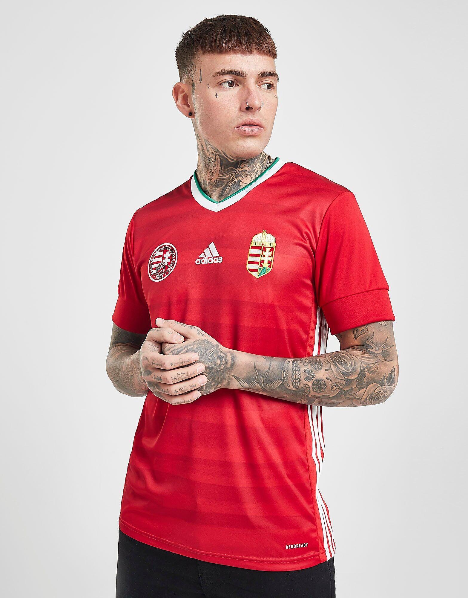 Image of Adidas Hungary 2020 Kotipaita Miehet - Mens, Punainen