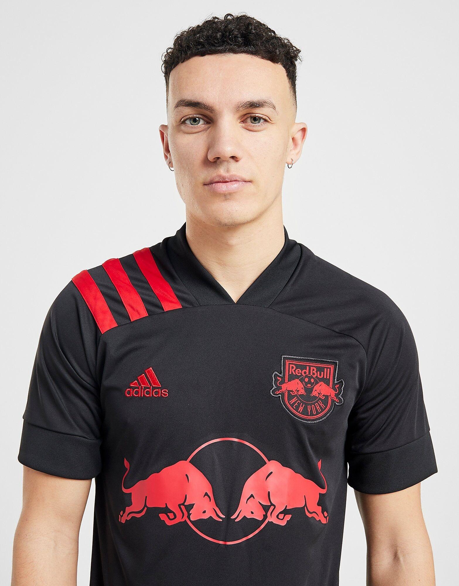 Image of Adidas New York Red Bulls 2020 -vieraspaita - Mens, Musta