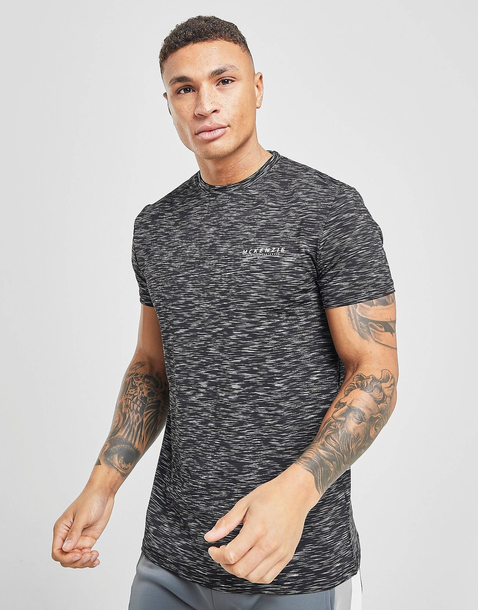 McKenzie Brannon Poly Space T-Paita Miehet - Only at JD - Mens, Musta