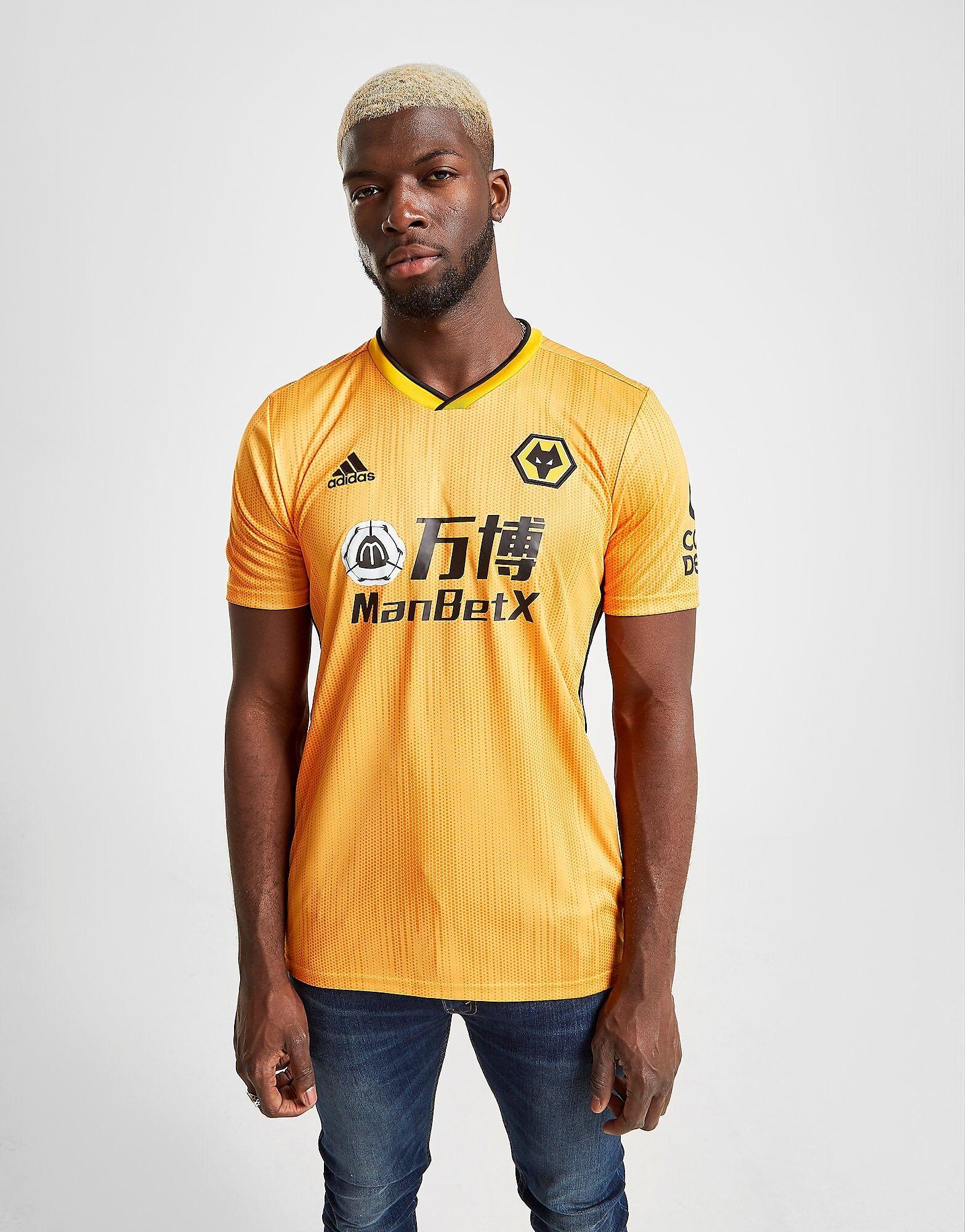 Image of Adidas Wolverhampton Wanderers FC 2019/20 Kotipaita Miehet - Mens, Oranssi