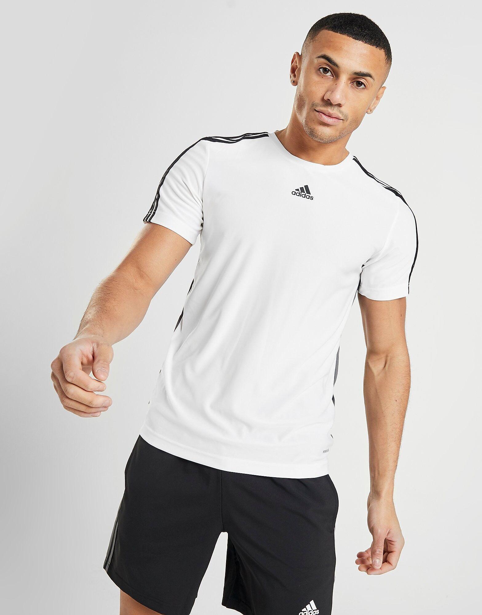 Image of Adidas Match T-paita Miehet - Only at JD - Mens, Valkoinen
