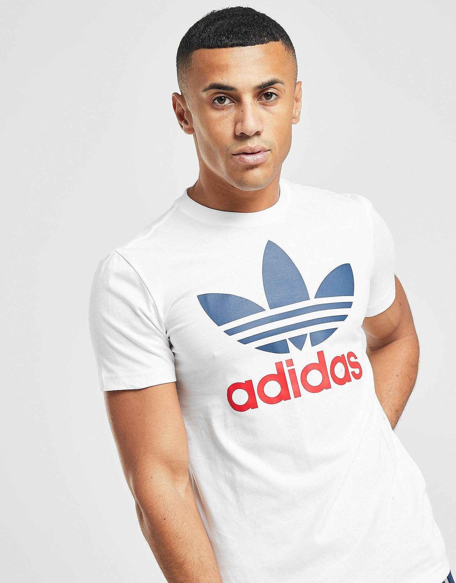 Image of Adidas Originals State T-paita Miehet - Only at JD - Mens, Valkoinen