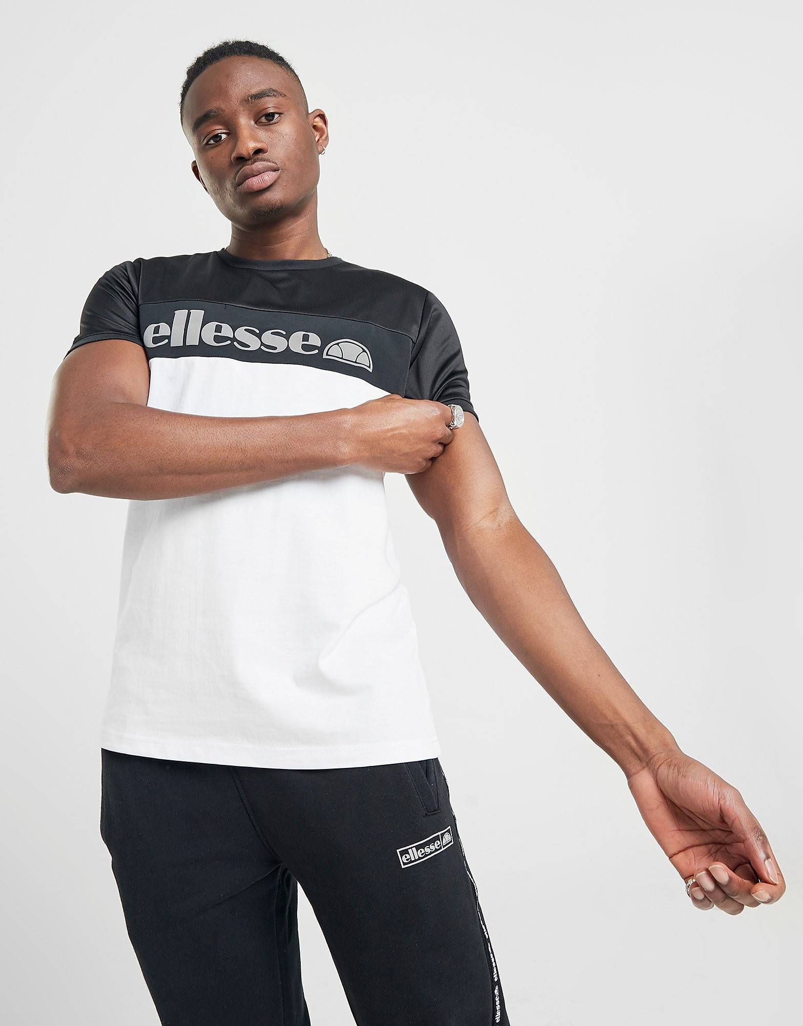 Image of Ellesse Russo T-Shirt - Only at JD - Mens, Valkoinen