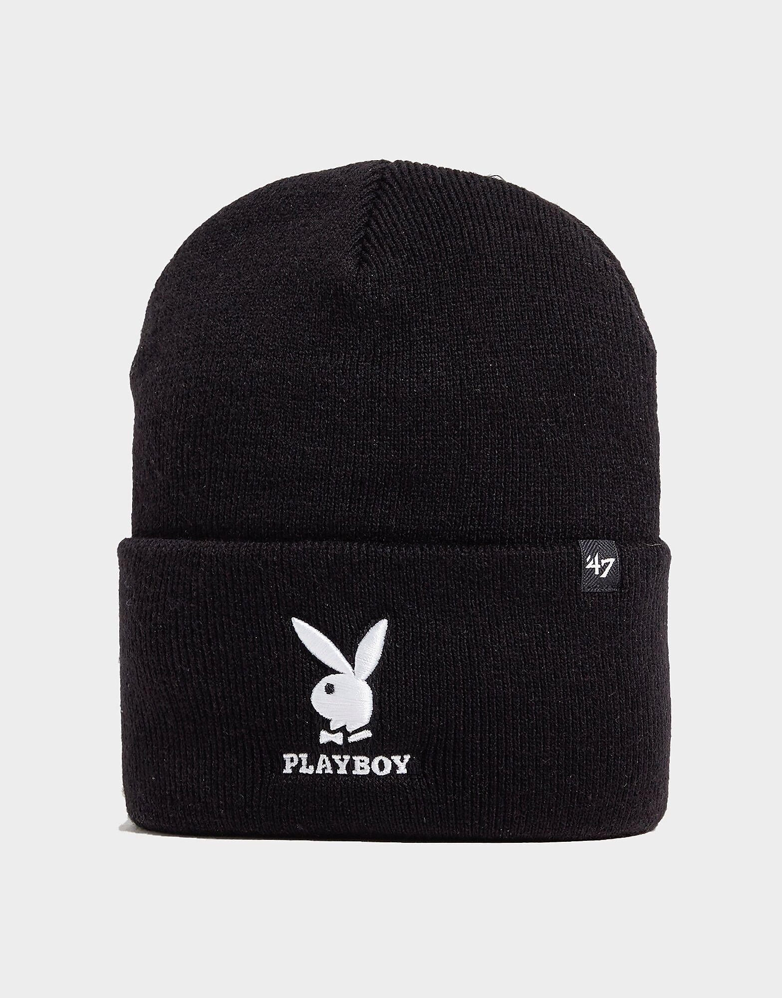47 Brand Playboy Pipo - Mens, Musta