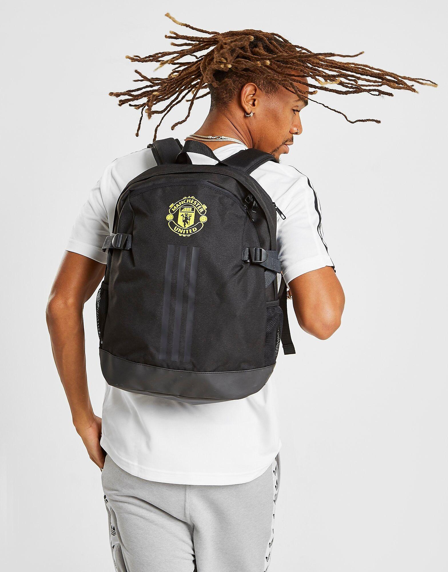 Image of Adidas Manchester United FC 2019/20 Reppu - Mens, Musta