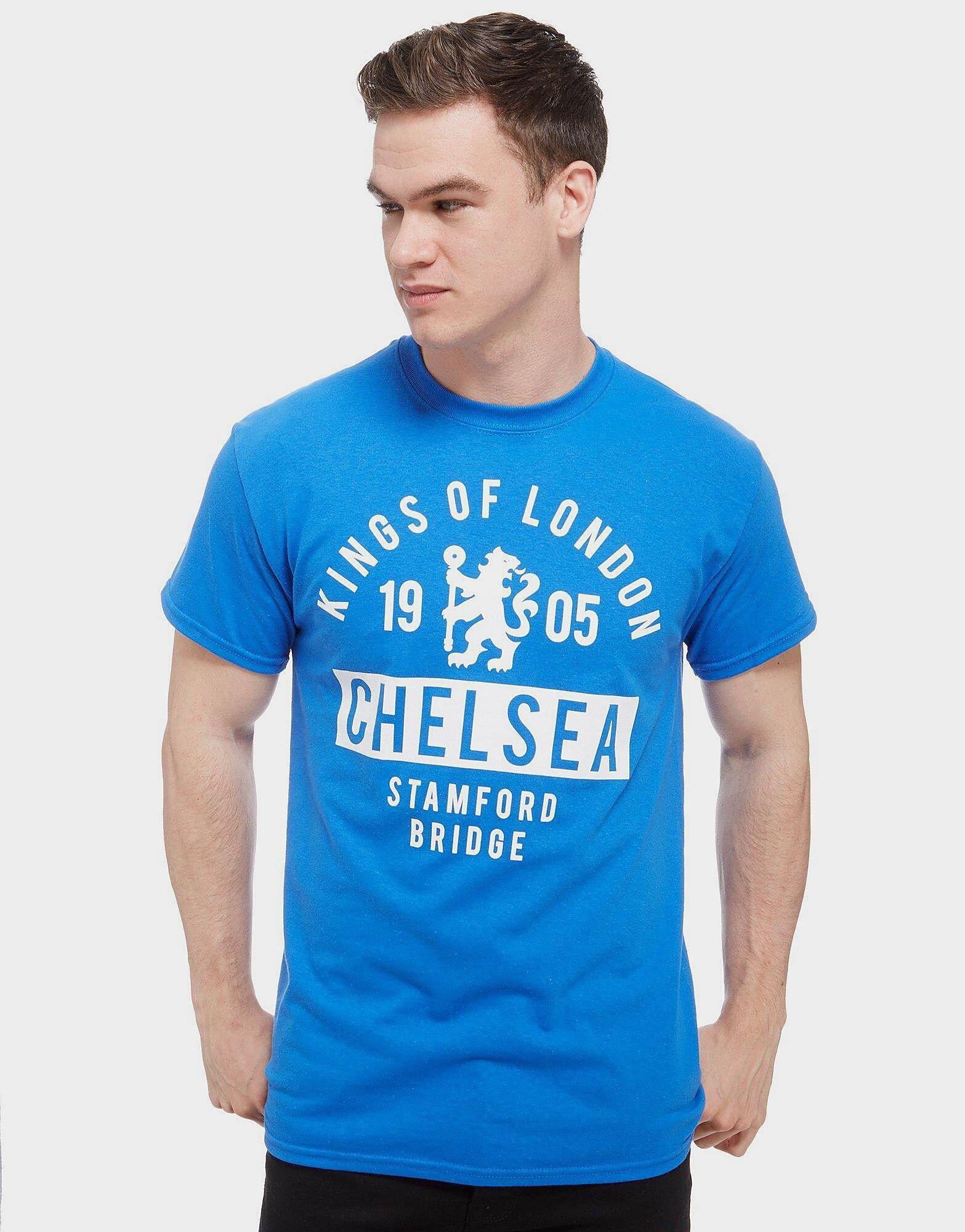 Official Team Chelsea FC Kings T-Paita Miehet - Mens, Royal Blue
