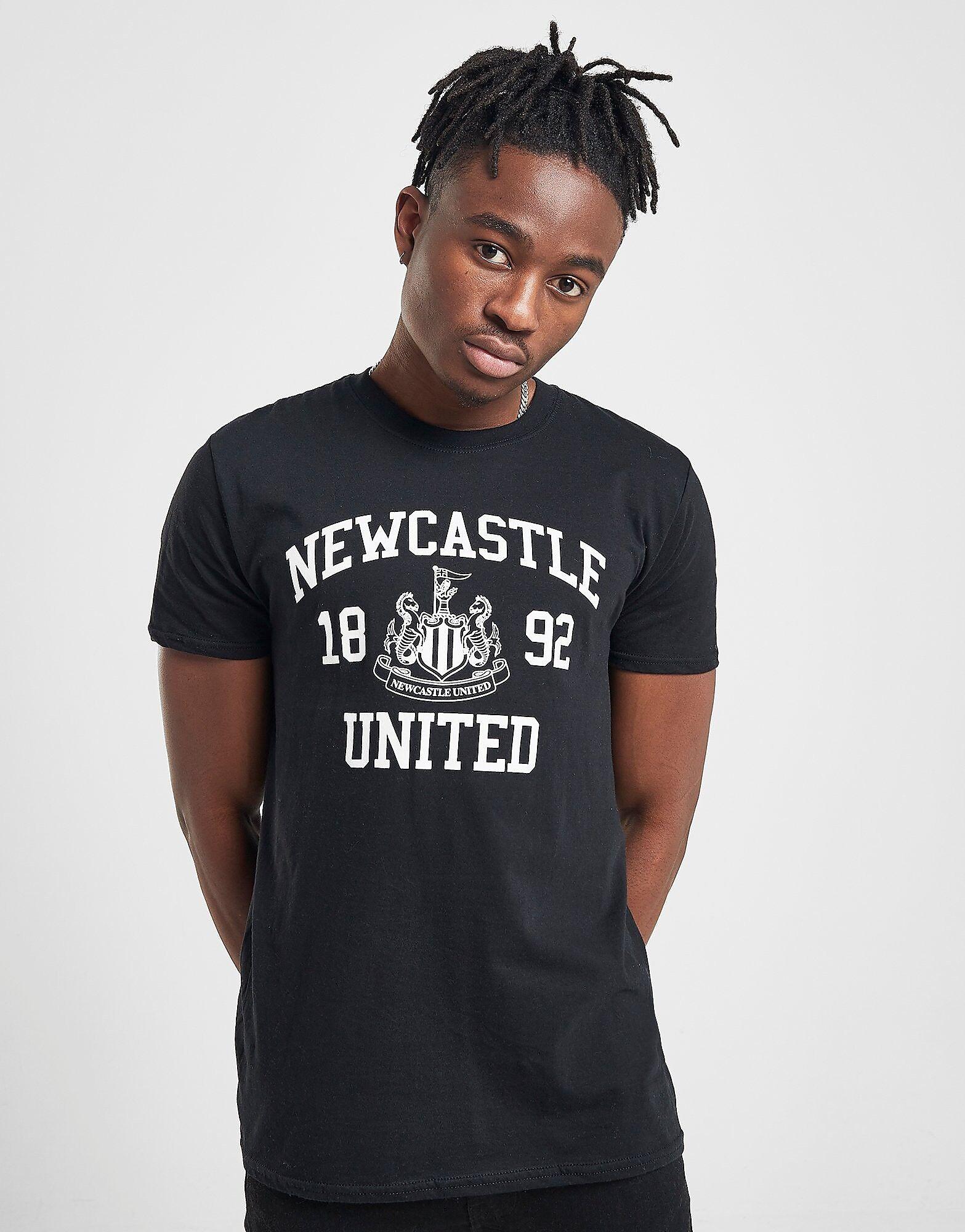 Official Team Newcastle United -t-paita Miehet - Mens, Musta