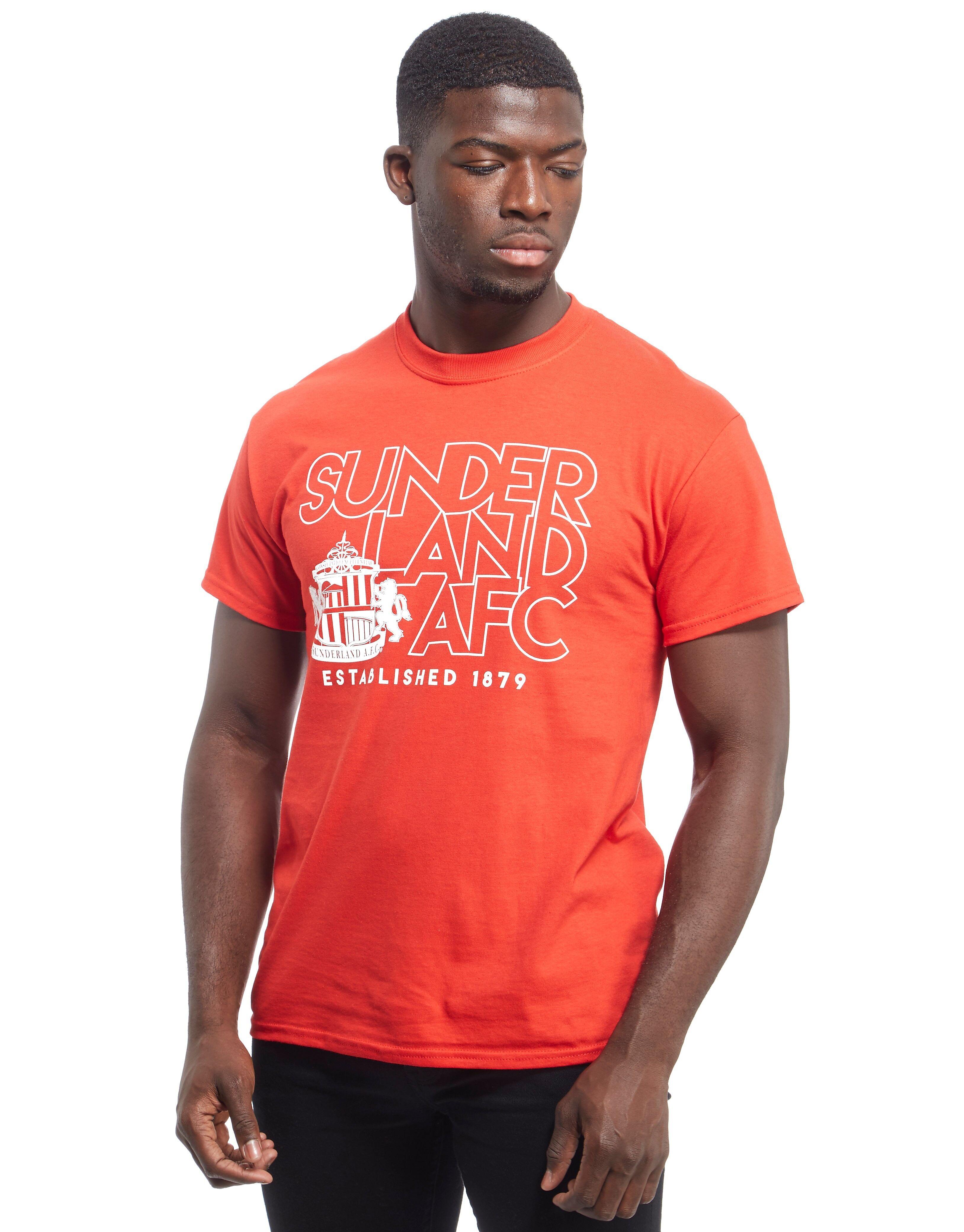 Official Team Sunderland AFC Stand -T-paita Miehet - Mens, Punainen