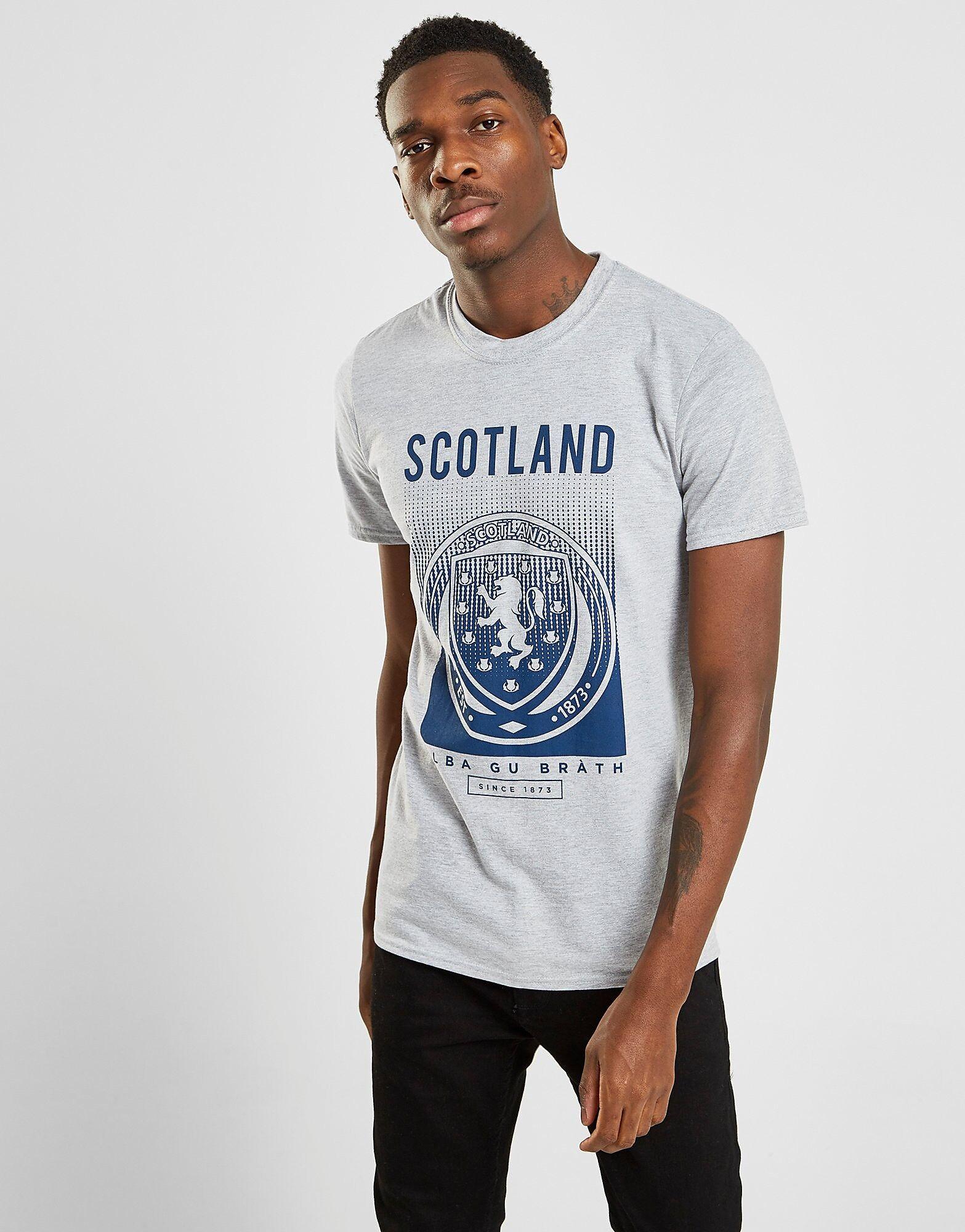 Official Team Scotland FA t-paita Miehet - Mens, Harmaa