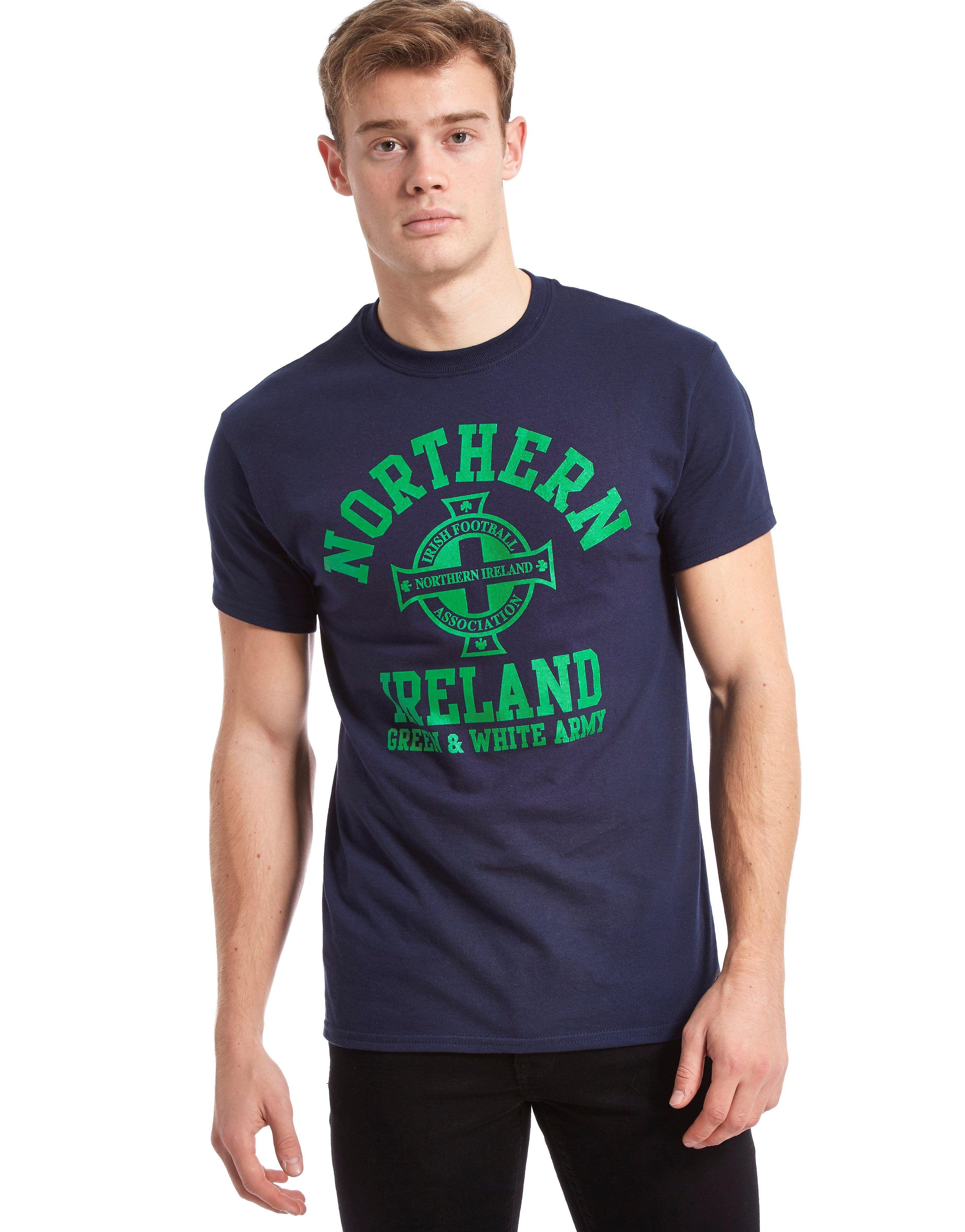 Official Team Northern Ireland Arch -t-paita Miehet - Mens, Laivastonsininen