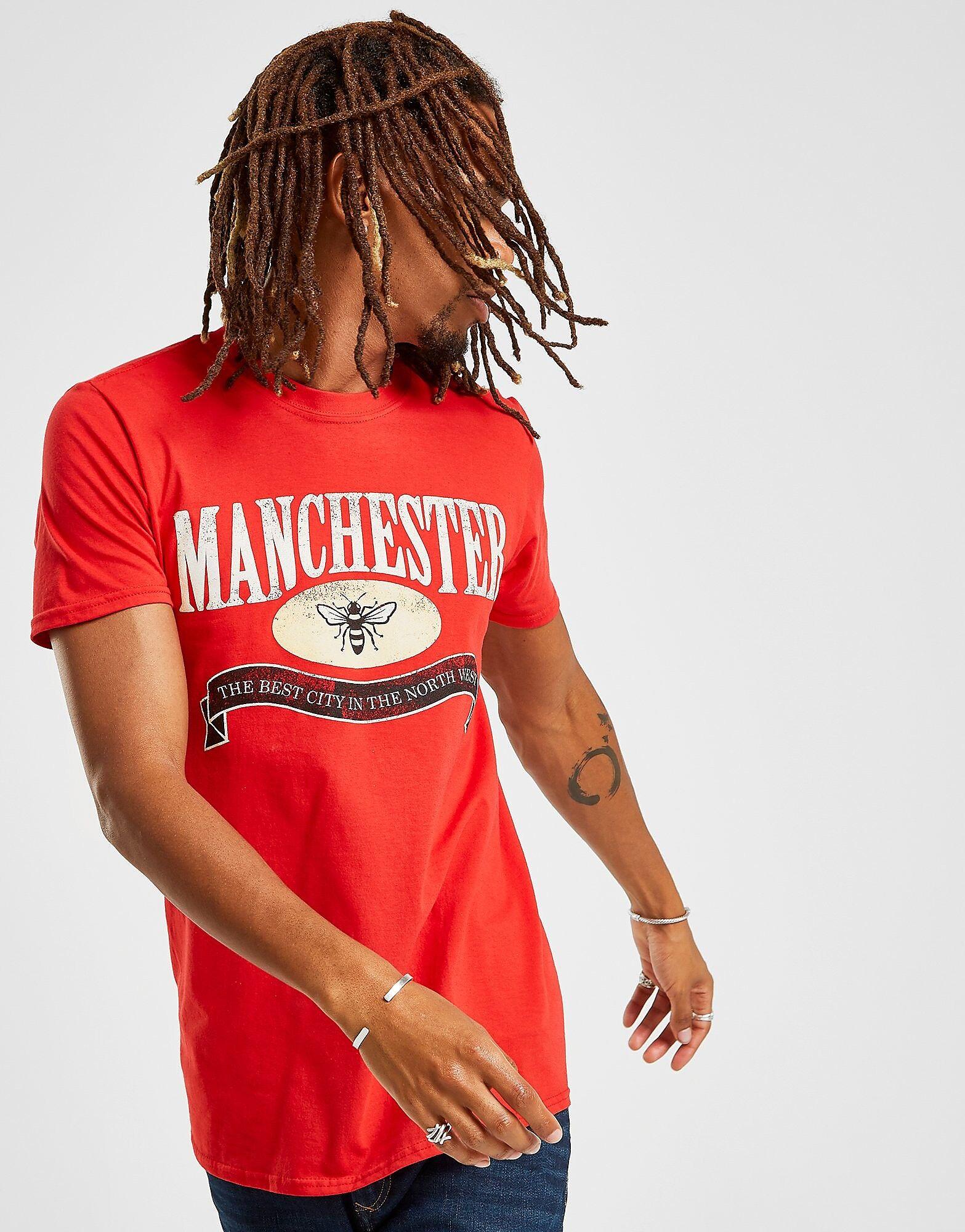 Official Team Manchester North West T-paita Miehet - Mens, Punainen