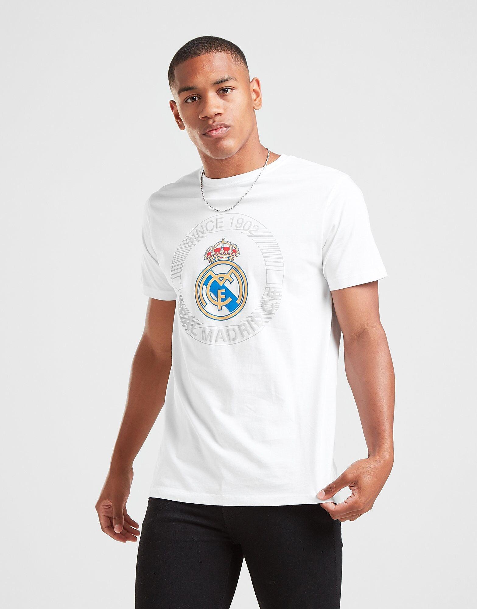 Official Team Real Madrid -T-paita Miehet - Mens, Valkoinen