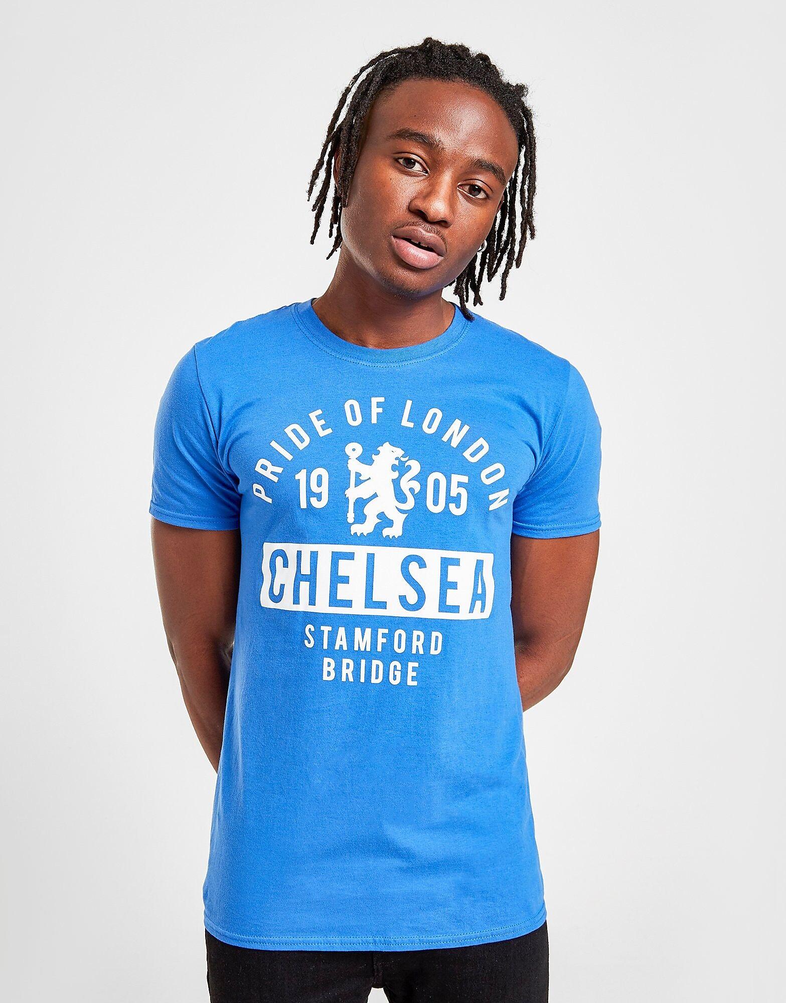 Official Team Chelsea FC Pride t-paita Miehet - Mens, Sininen