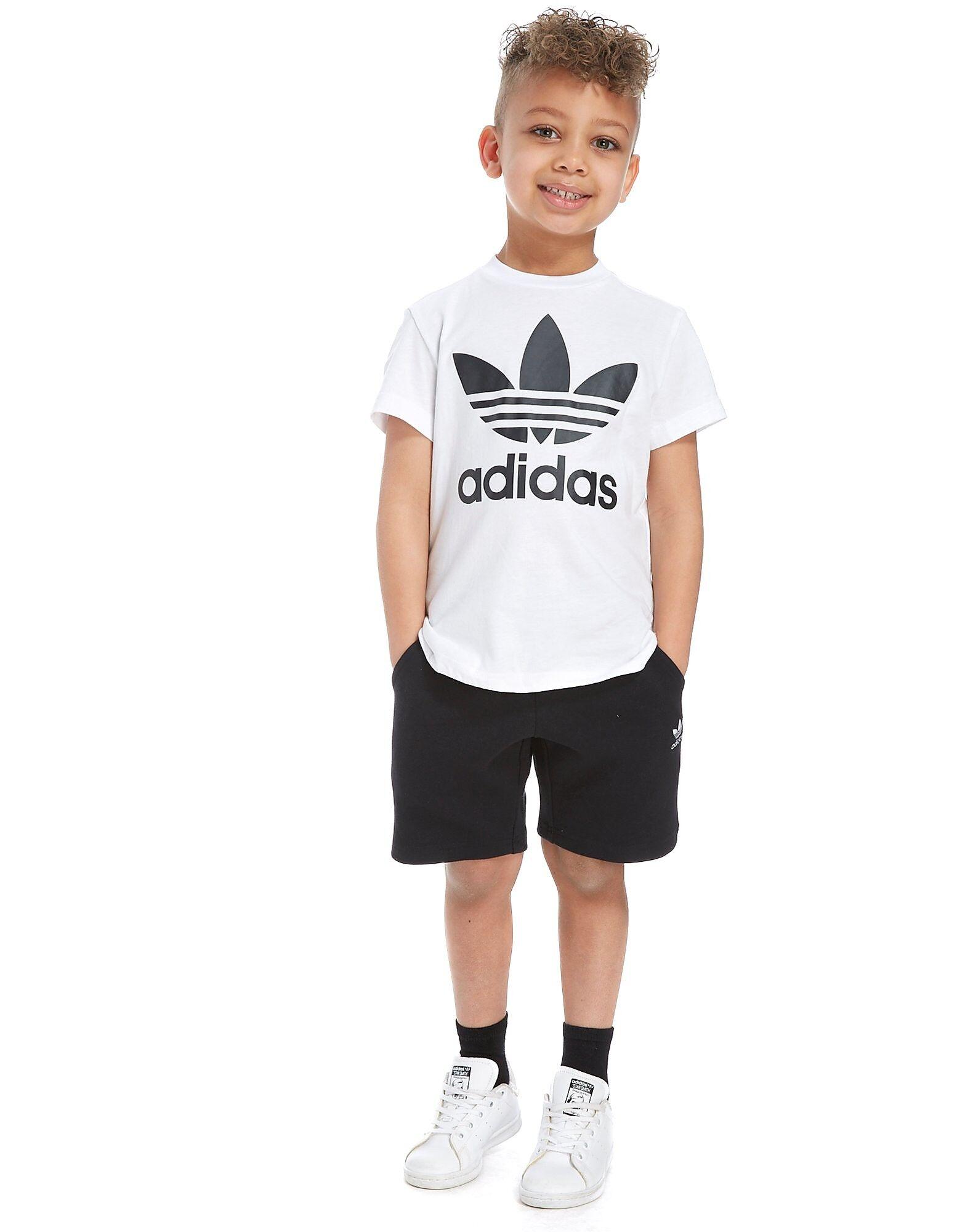 Image of Adidas Originals T-Paita & Shortsit Lapset - Kids, Valkoinen
