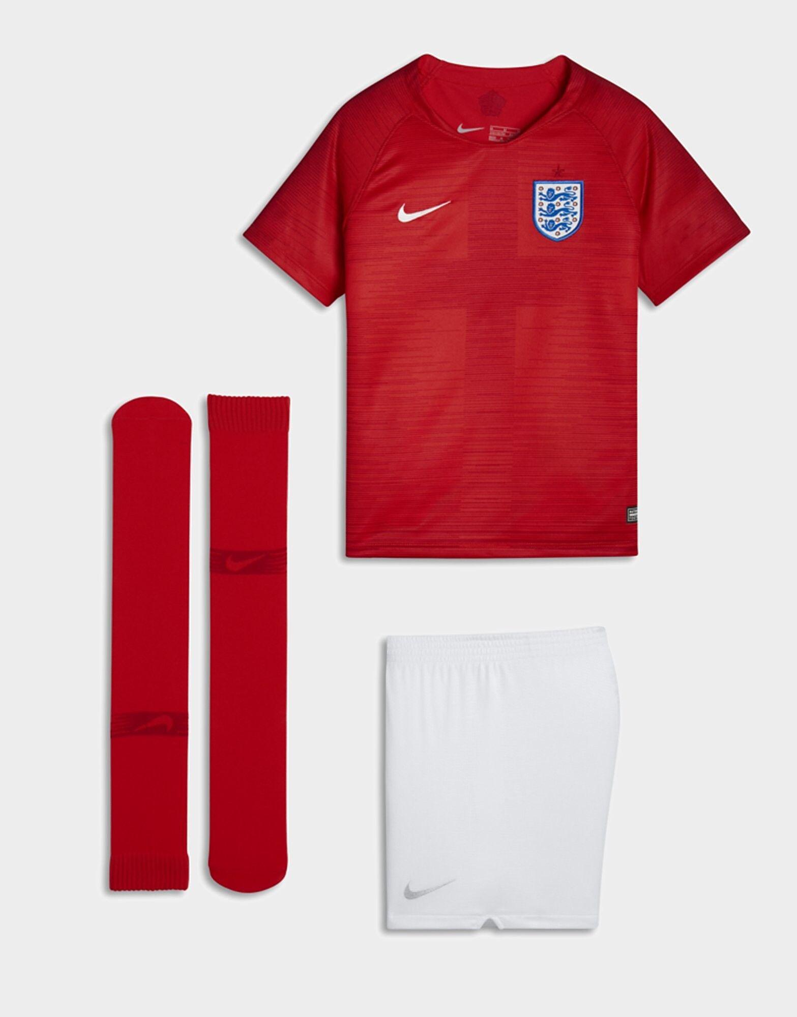 Image of Nike England 2018 Vieraspeliasu Lapset - Kids, Punainen