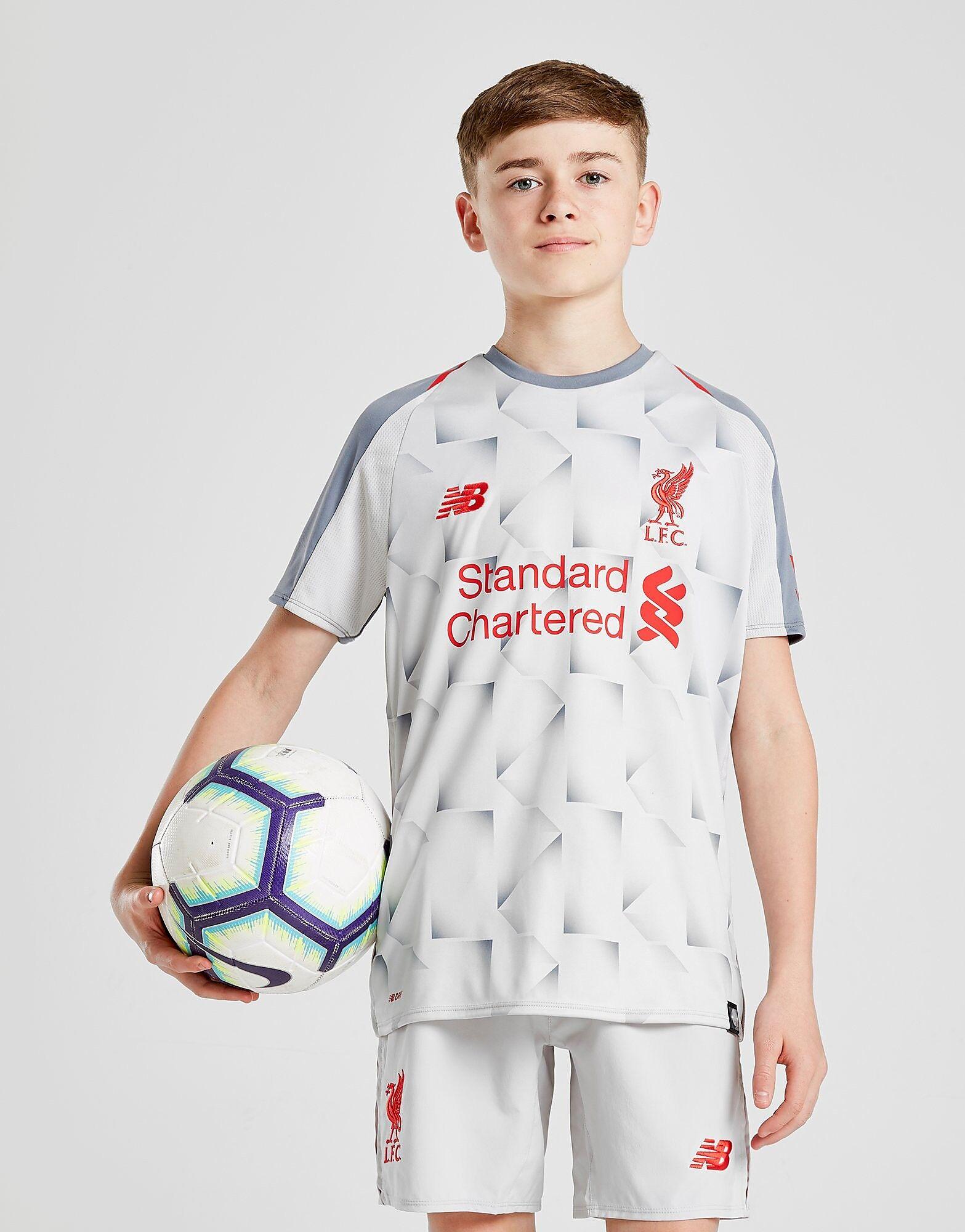 Image of New Balance Liverpool FC 2018/19 Kolmas Paita Juniorit - Kids, Valkoinen