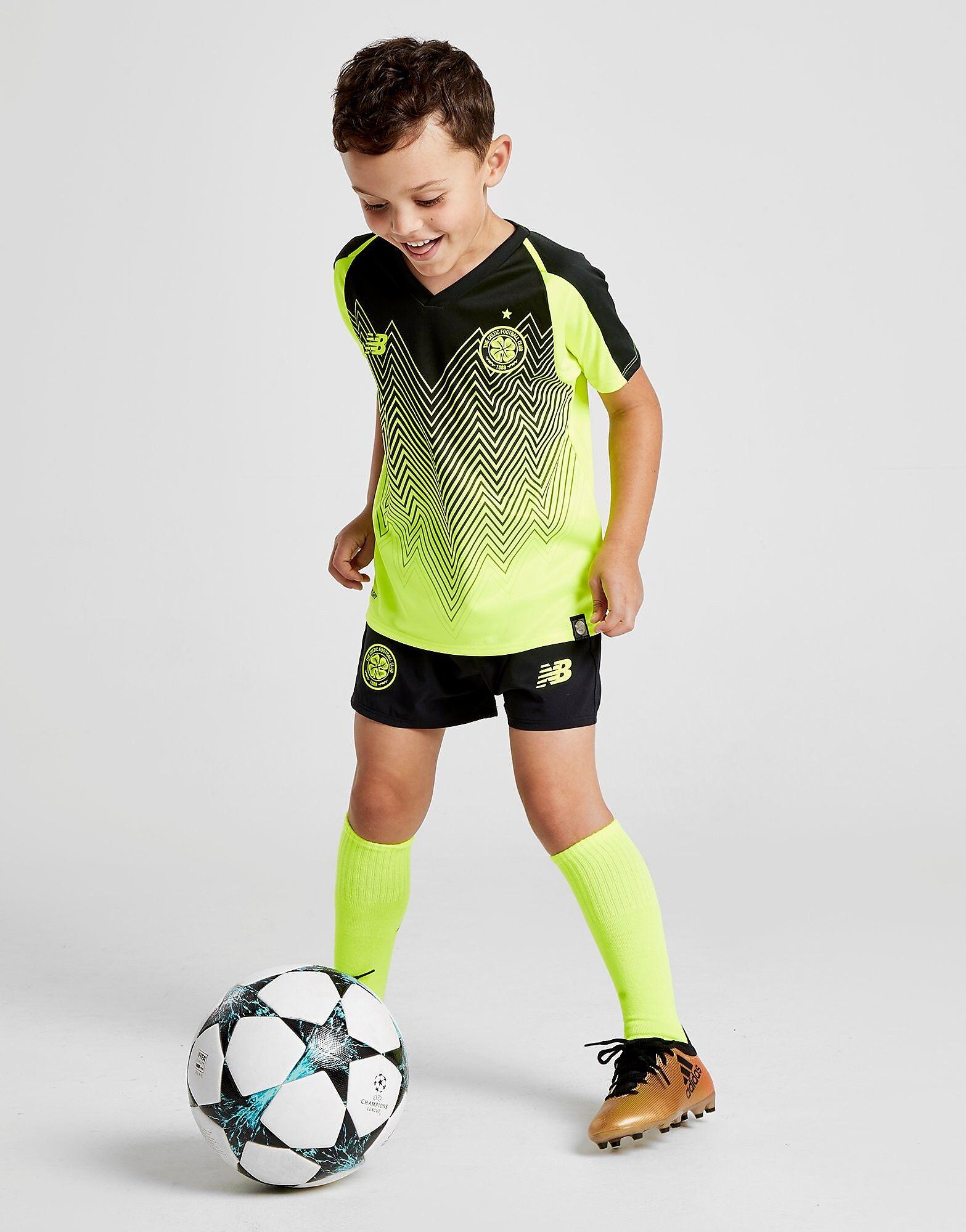 Image of New Balance Celtic FC 2018/19 Kolmas Asu Lapset - Kids, Keltainen