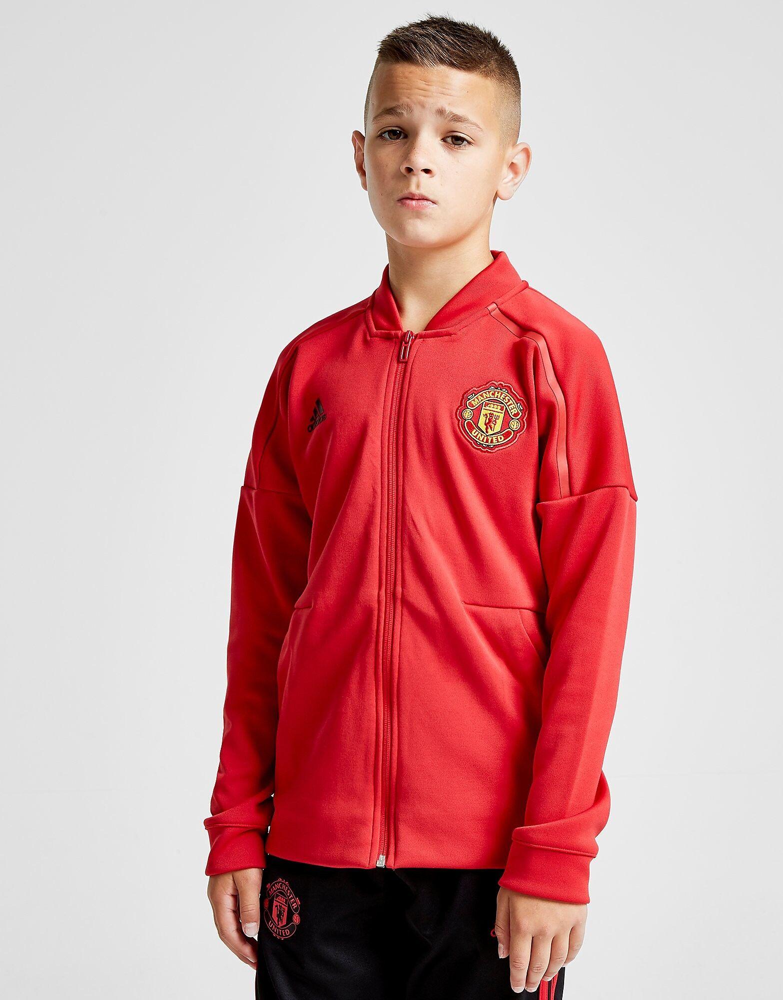 Image of Adidas Manchester United Z.N.E Jacket Junior - Kids, Punainen