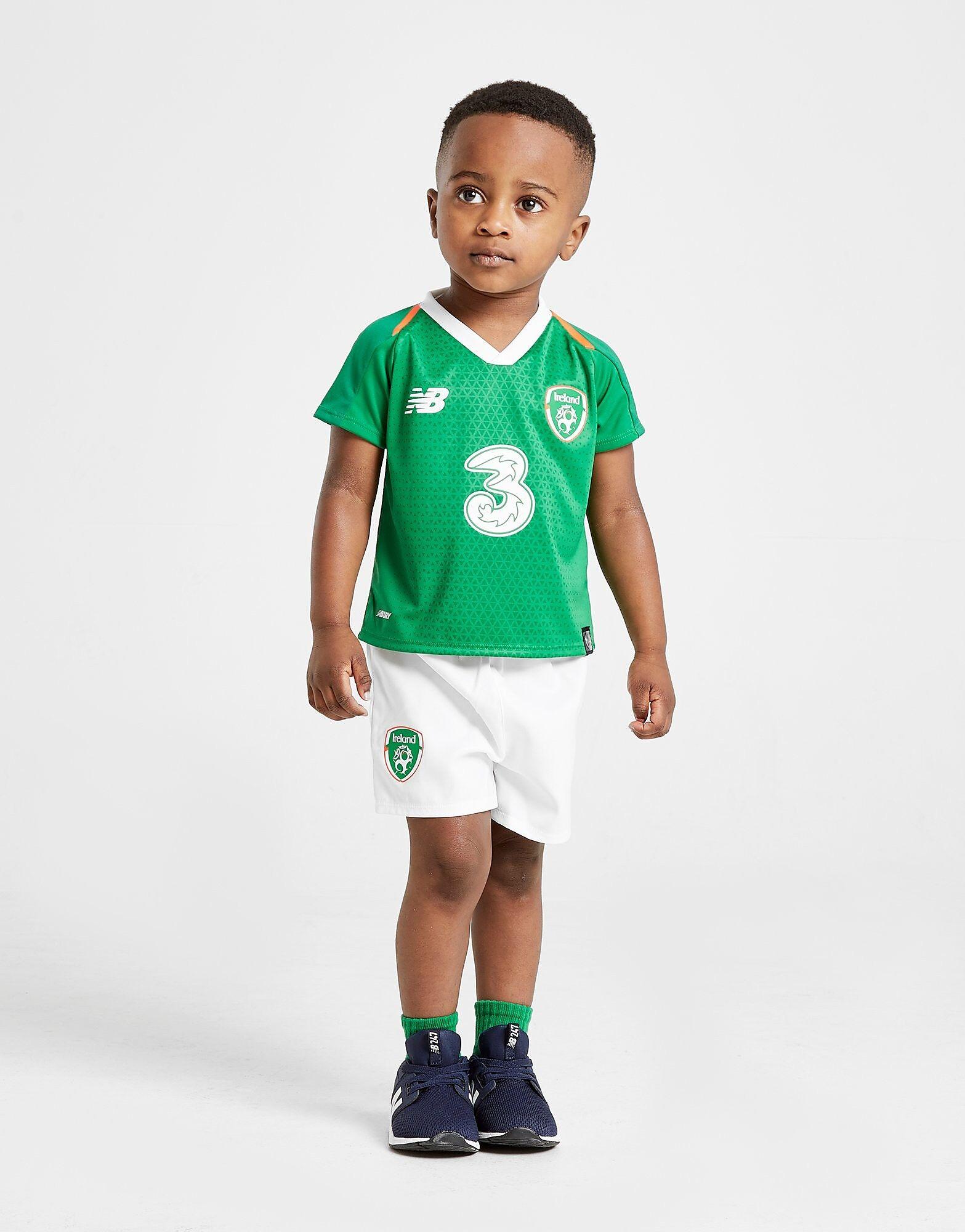 Image of New Balance Republic of Ireland 2018/19 Home Peliasu Vauvat - Kids, Vihreä