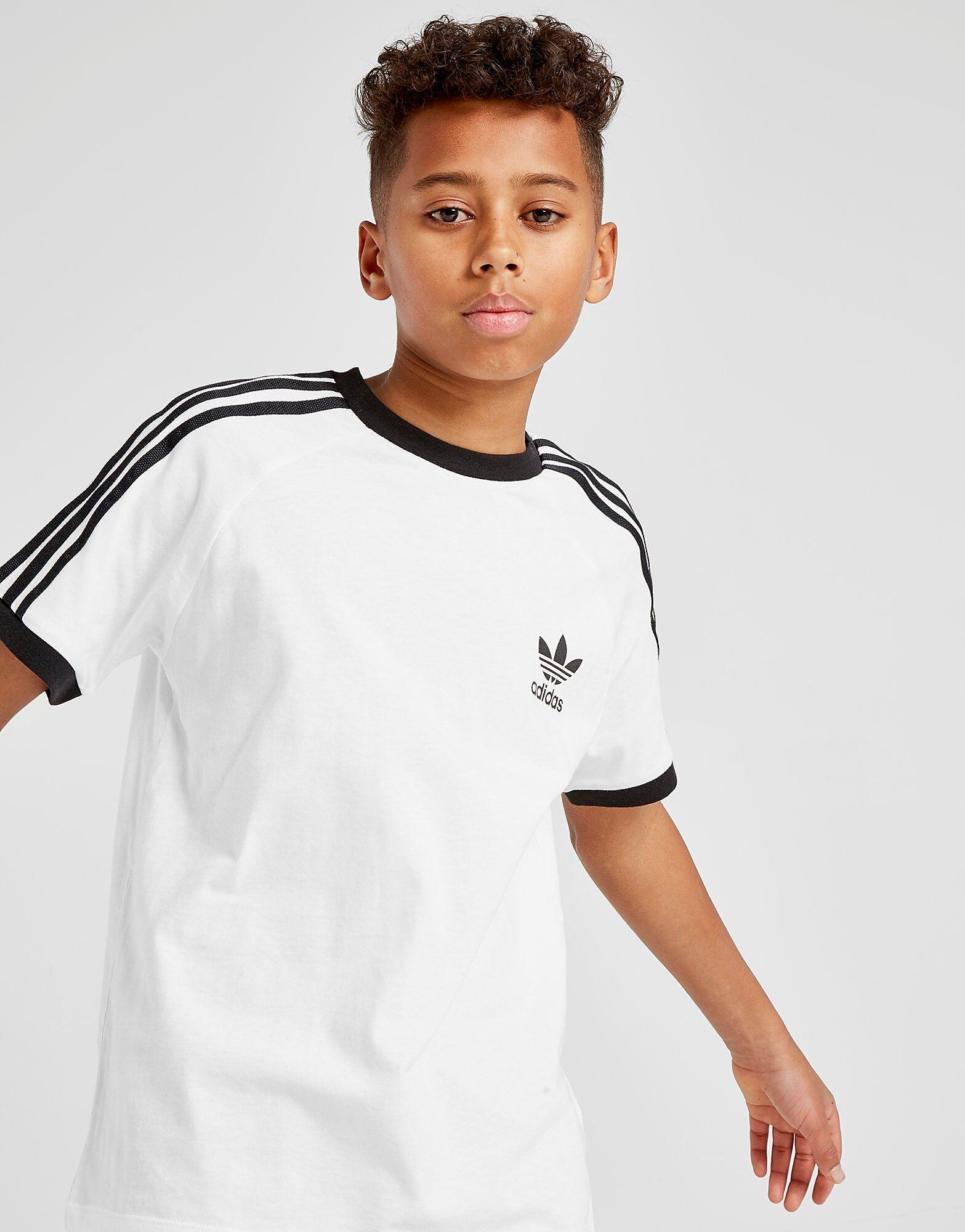 Image of Adidas Originals California T-Paita Juniorit - Only at JD - Kids, Valkoinen