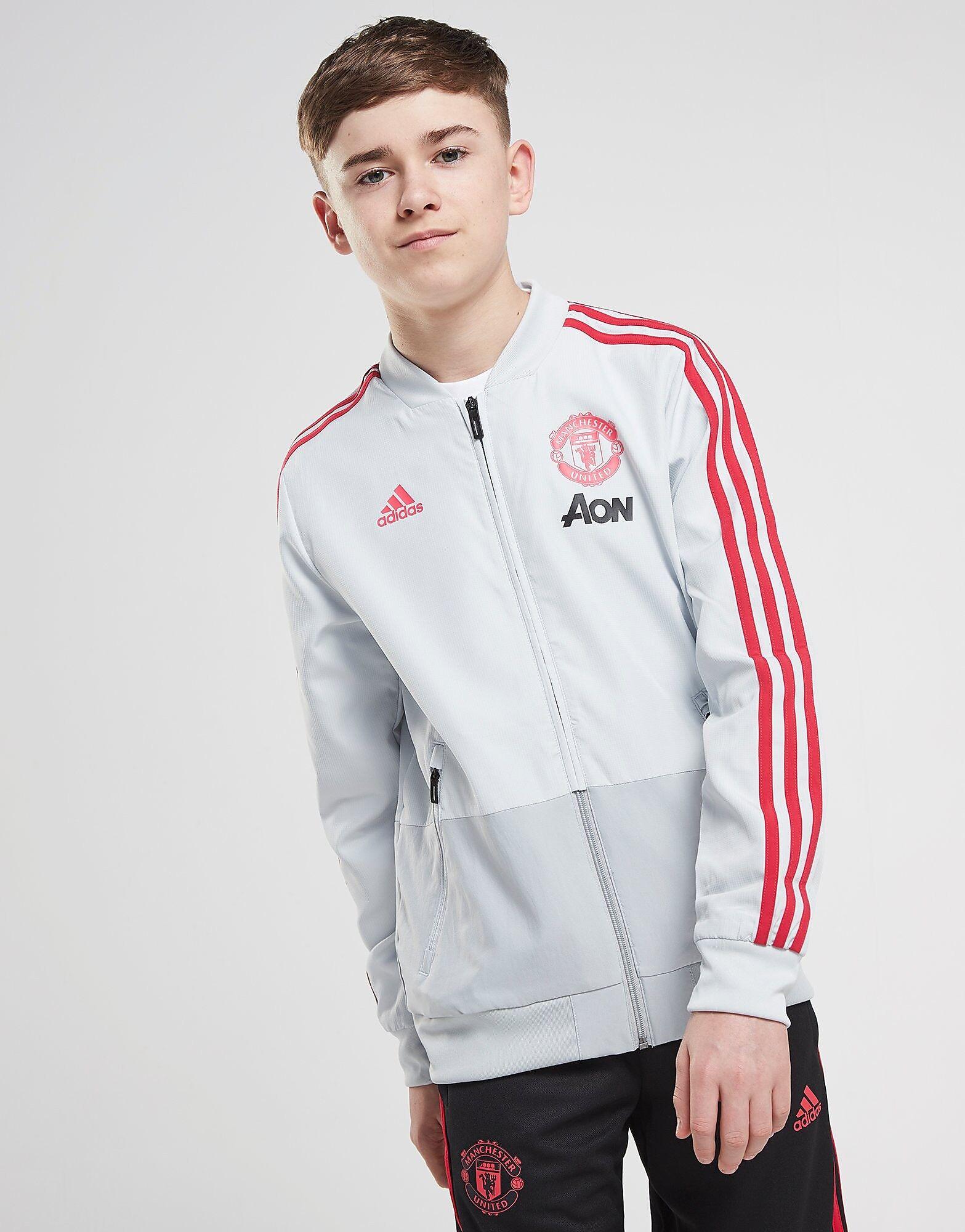 Image of Adidas Manchester United FC Presentation Takki Juniorit - Kids, Valkoinen
