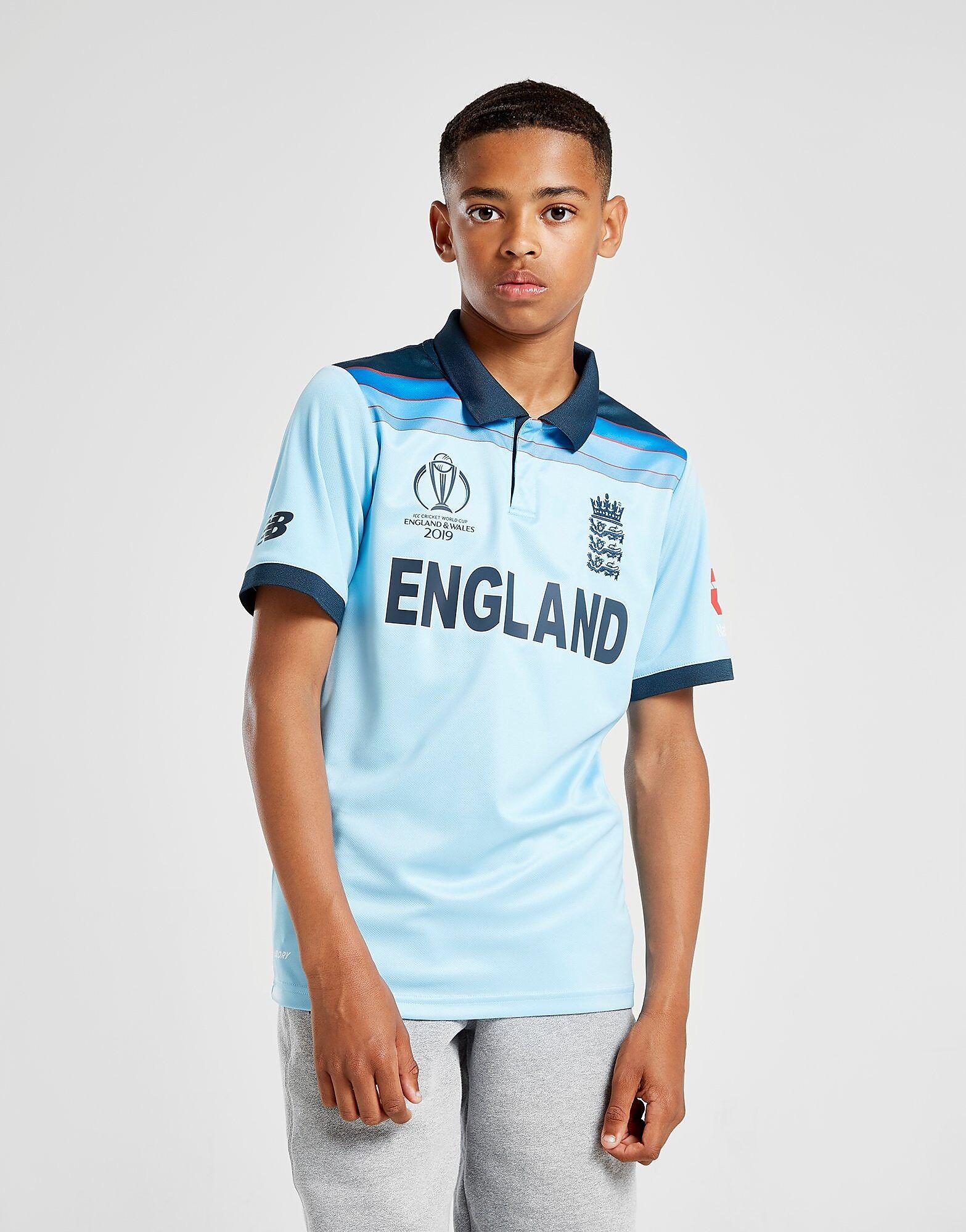Image of New Balance ECB World Cup 19 Paita Juniorit - Kids, Sininen