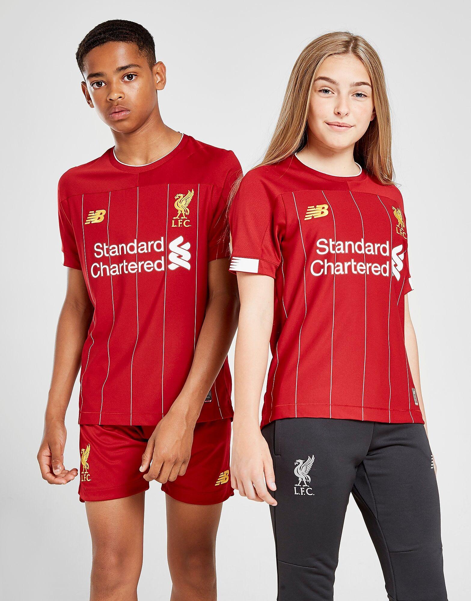 Image of New Balance Liverpool FC 2019 Kotipaita Juniorit ENNAKKOTILAUS - Kids, Punainen