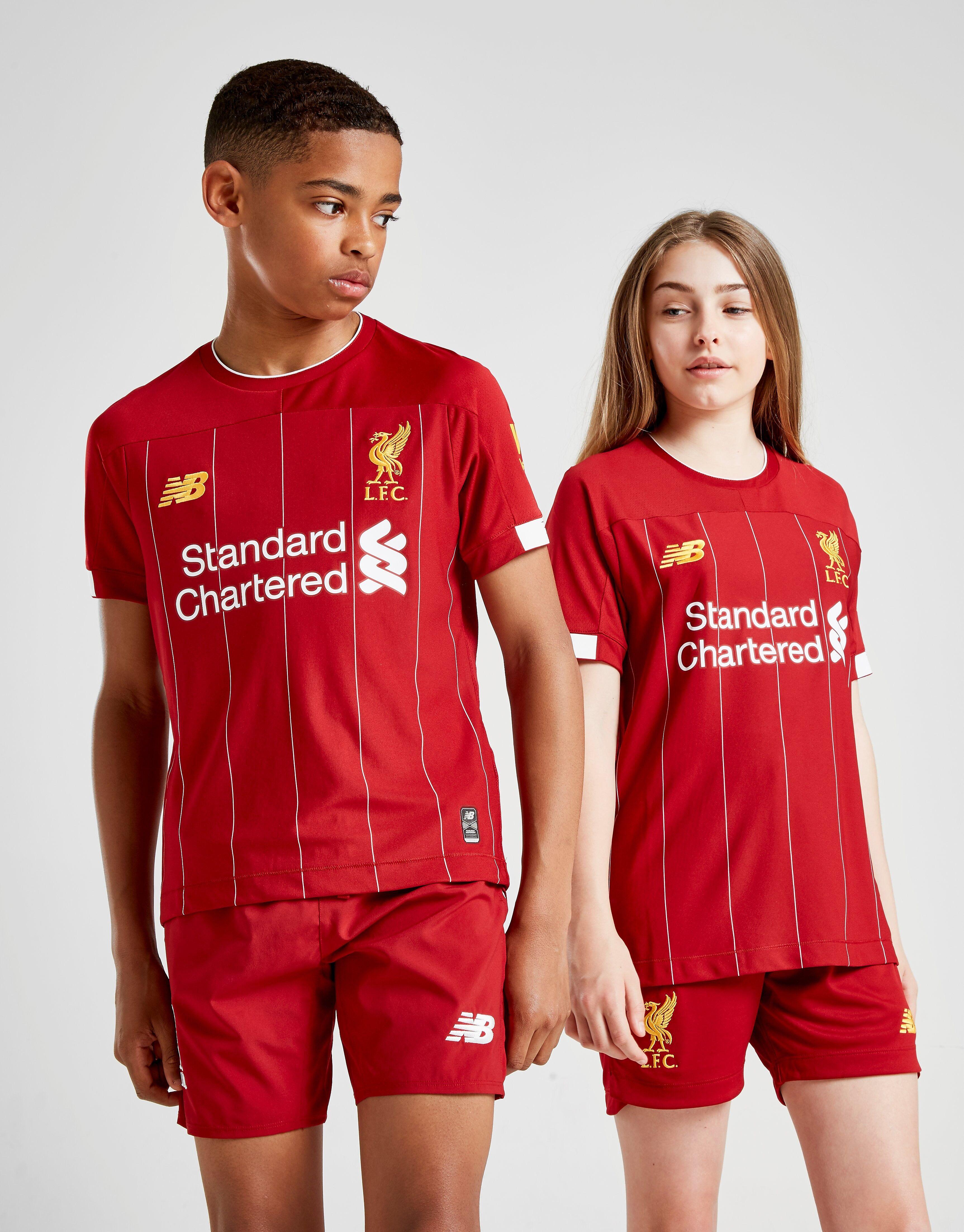 Image of New Balance Liverpool FC 2019 Kotishortsit Juniorit ENNAKKOTILAUS - Kids, Punainen
