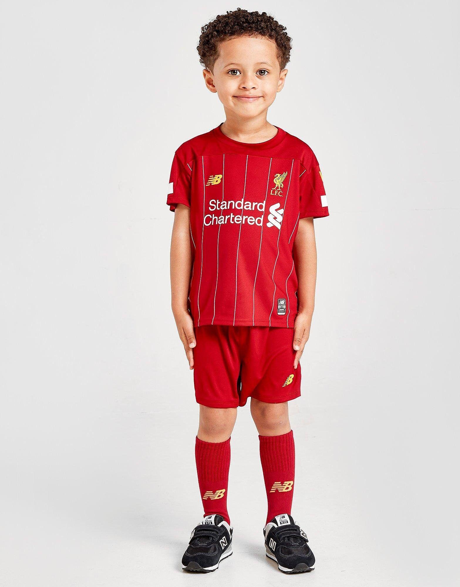 Image of New Balance Liverpool FC 2019 Kotisetti Lapset ENNAKKOTILAUS - Kids, Punainen