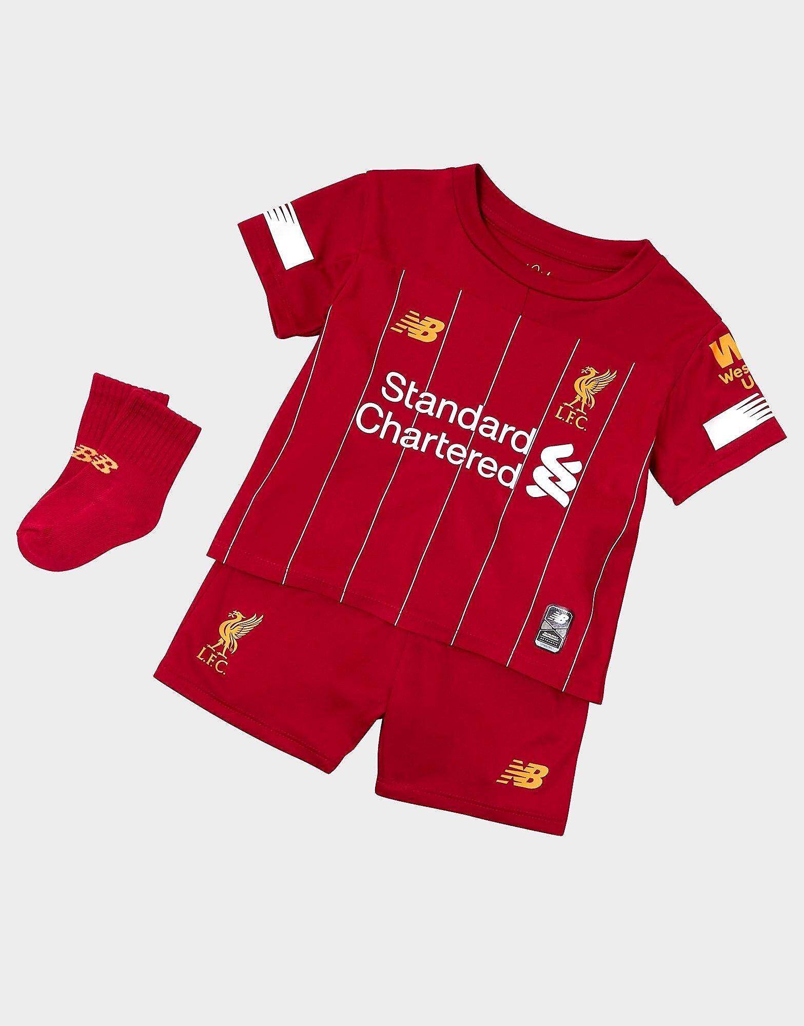 Image of New Balance Liverpool FC 2019 Kotisetti Vauvat ENNAKKOTILAUS - Kids, Punainen