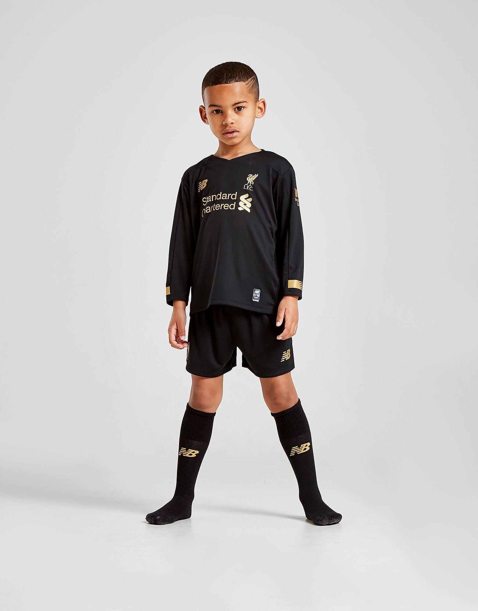 Image of New Balance Liverpool FC 2019 Maalivahti Kotisetti Lapset ENNAKKOTILAUS - Kids, Musta