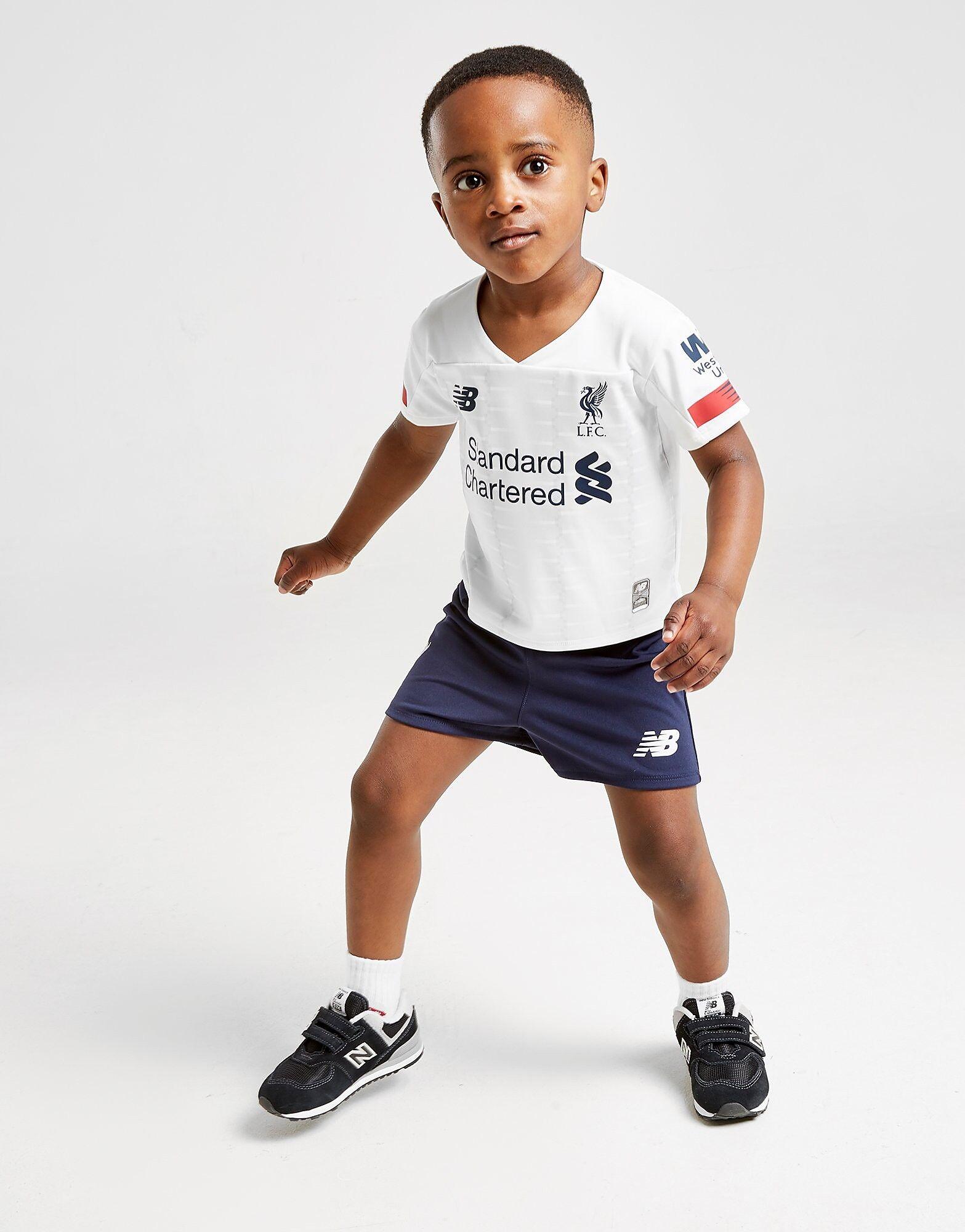 Image of New Balance Liverpool FC 2019/20 Vierassetti Vauvat - Kids, Valkoinen