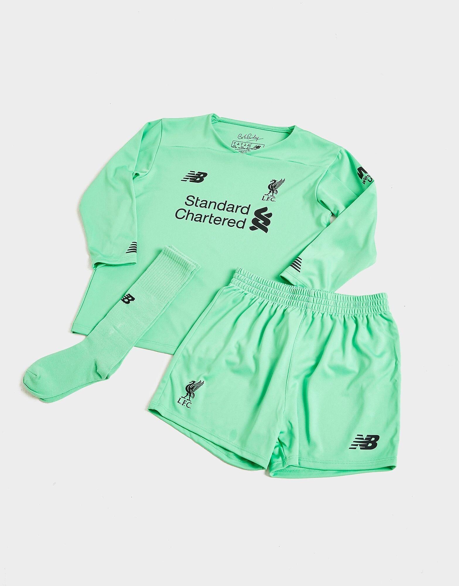 Image of New Balance Liverpool FC 2019/20 Goalkeeper Vierassetti Lapset - Kids, Vihreä