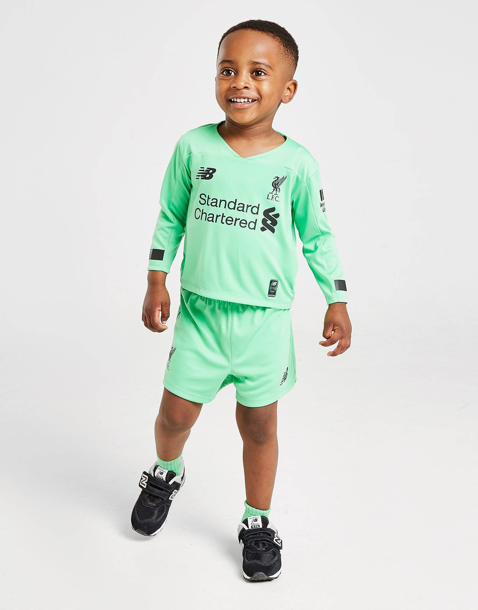 Image of New Balance Liverpool FC 2019/20 Goalkeeper Vierassetti Vauvat - Kids, Vihreä