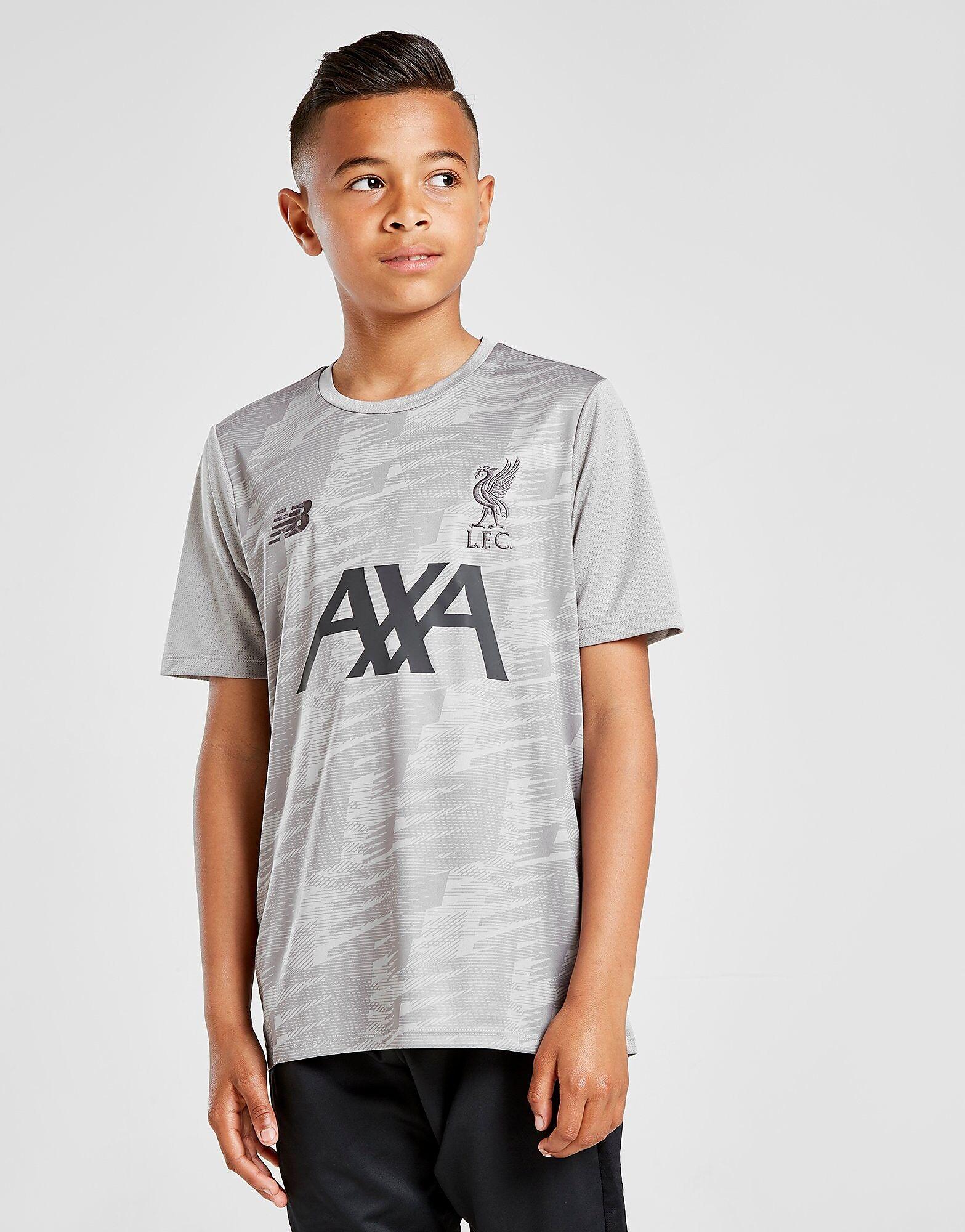 Image of New Balance Liverpool FC kevyt treenipaita Juniorit - Kids, Harmaa