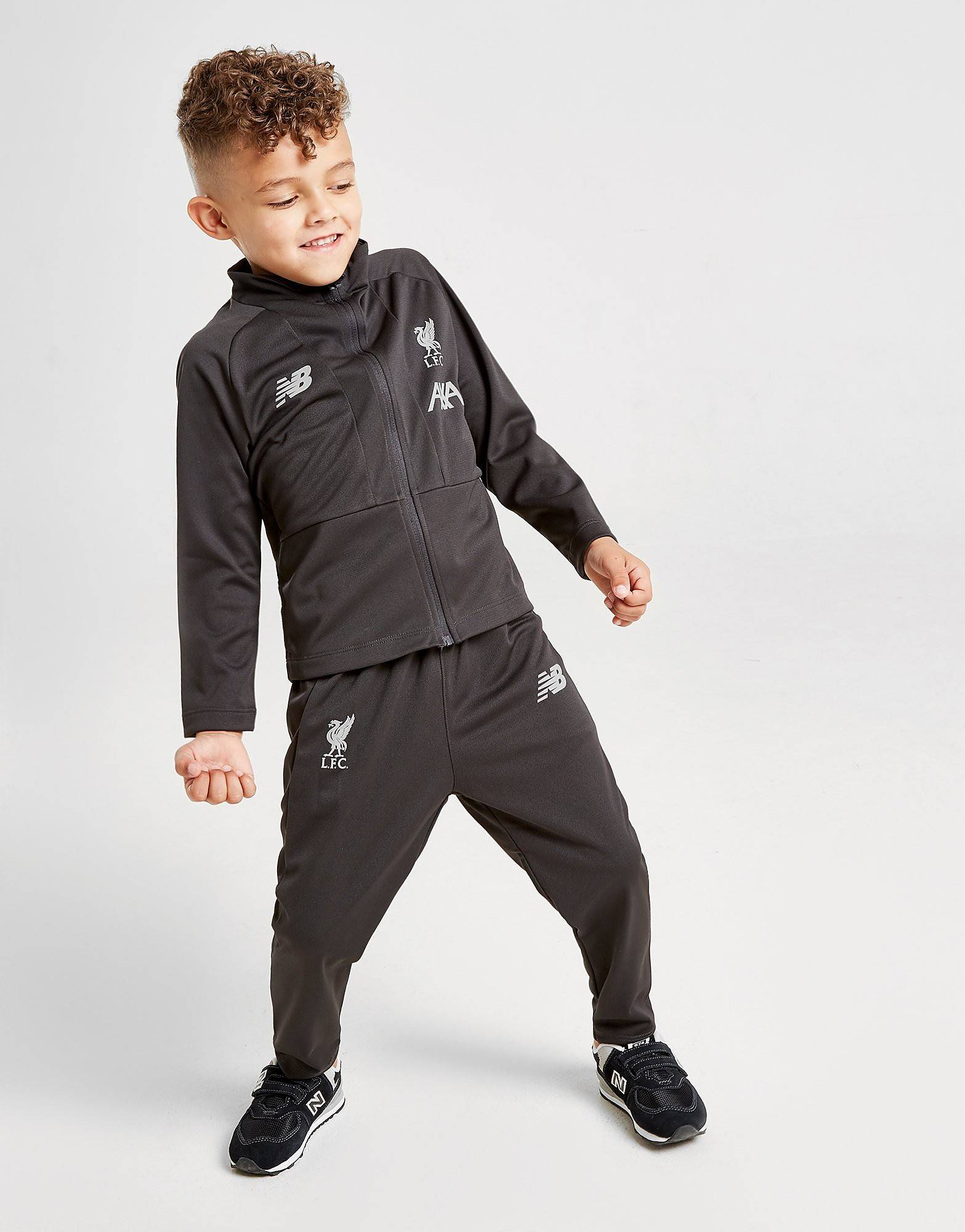 Image of New Balance Liverpool FC Verryttelyasu Lapset - Kids, Musta