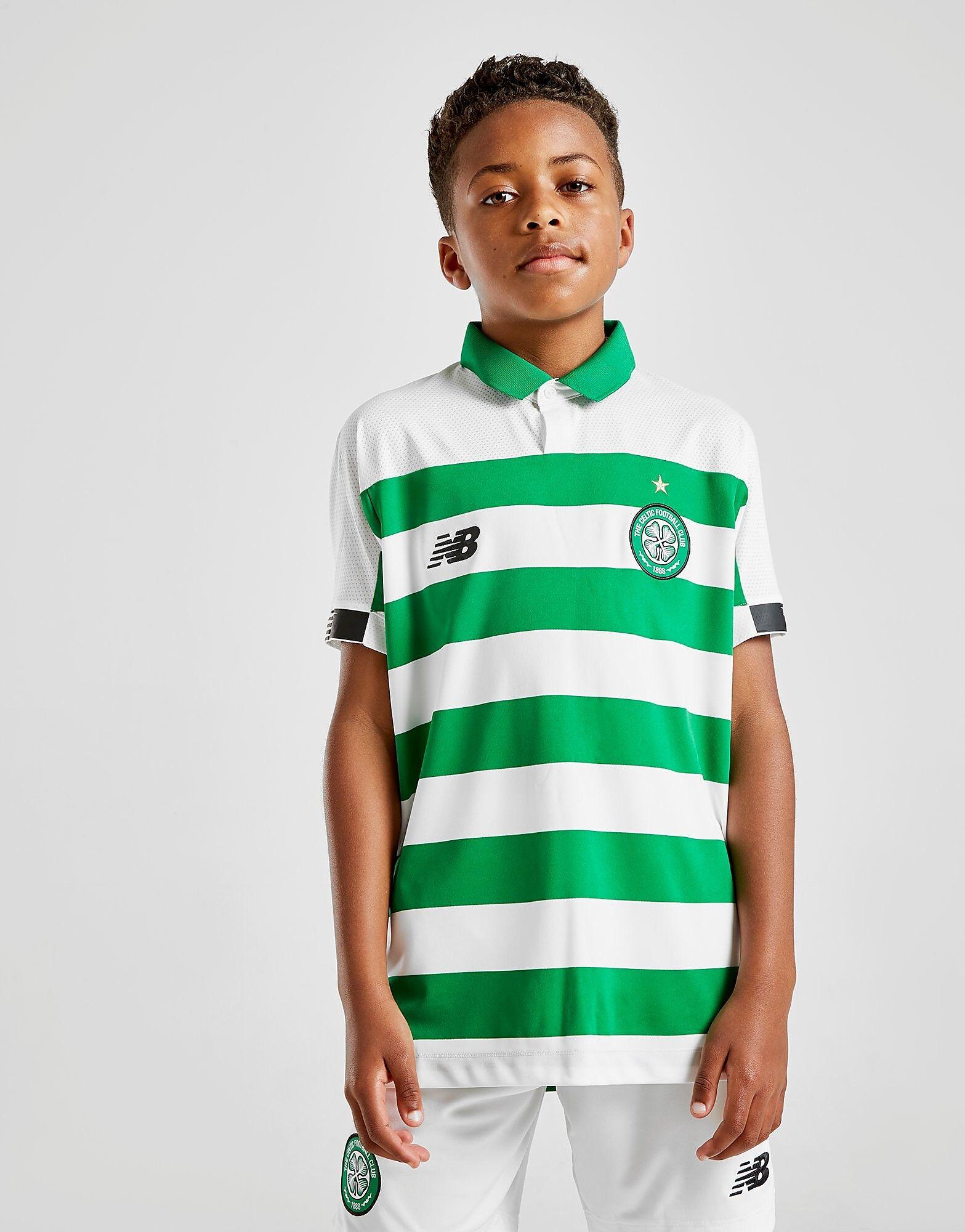 Image of New Balance Celtic FC 2019 Kotipaita Juniorit - Kids, Vihreä