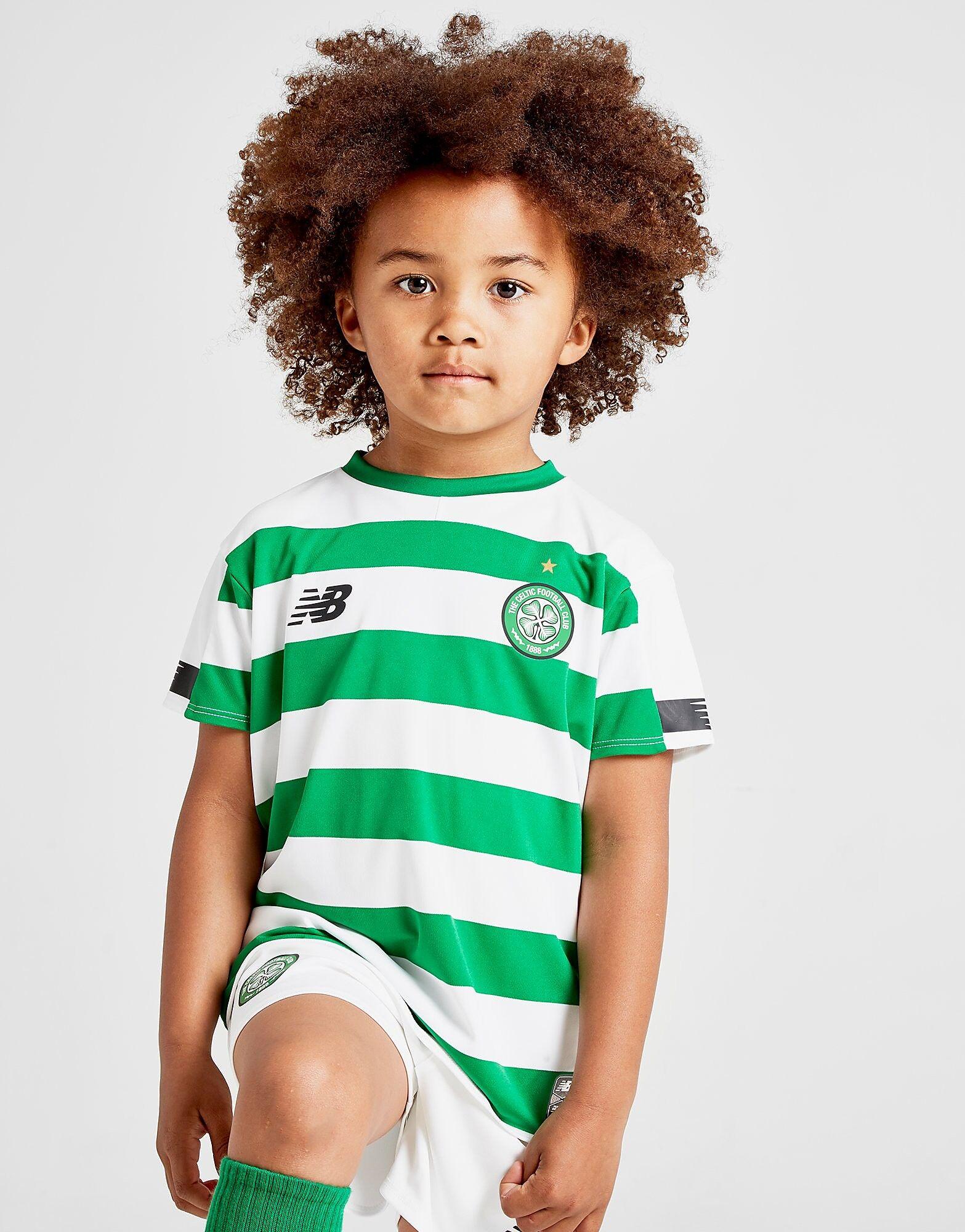 Image of New Balance Celtic FC 2019 Kotisetti Lapset - Kids, Vihreä