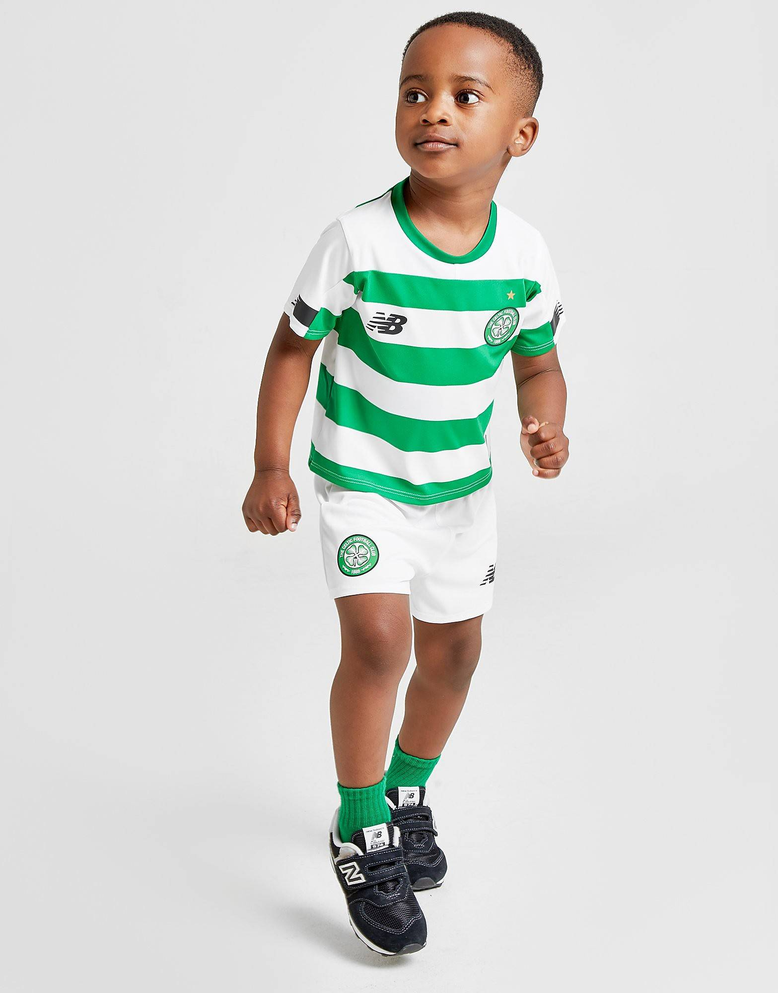 Image of New Balance Celtic FC 2019 Kotisetti Vauvat - Kids, Vihreä