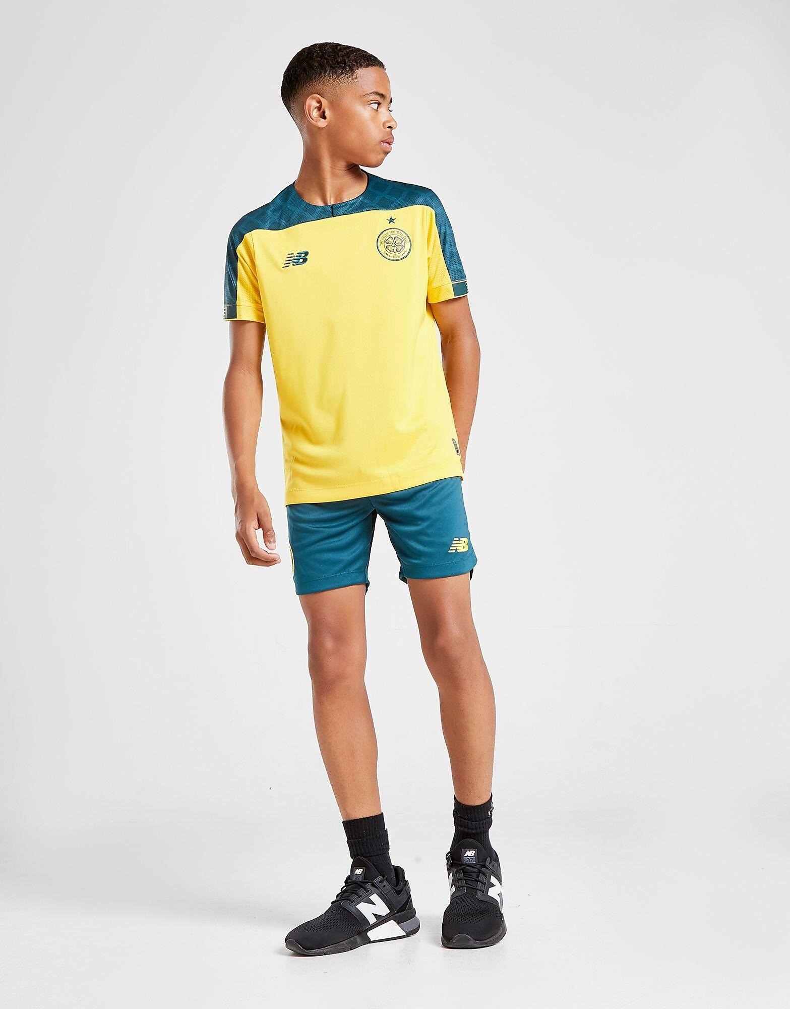Image of New Balance Celtic FC 2019/20 Vieraspaita Juniorit - Kids, Keltainen