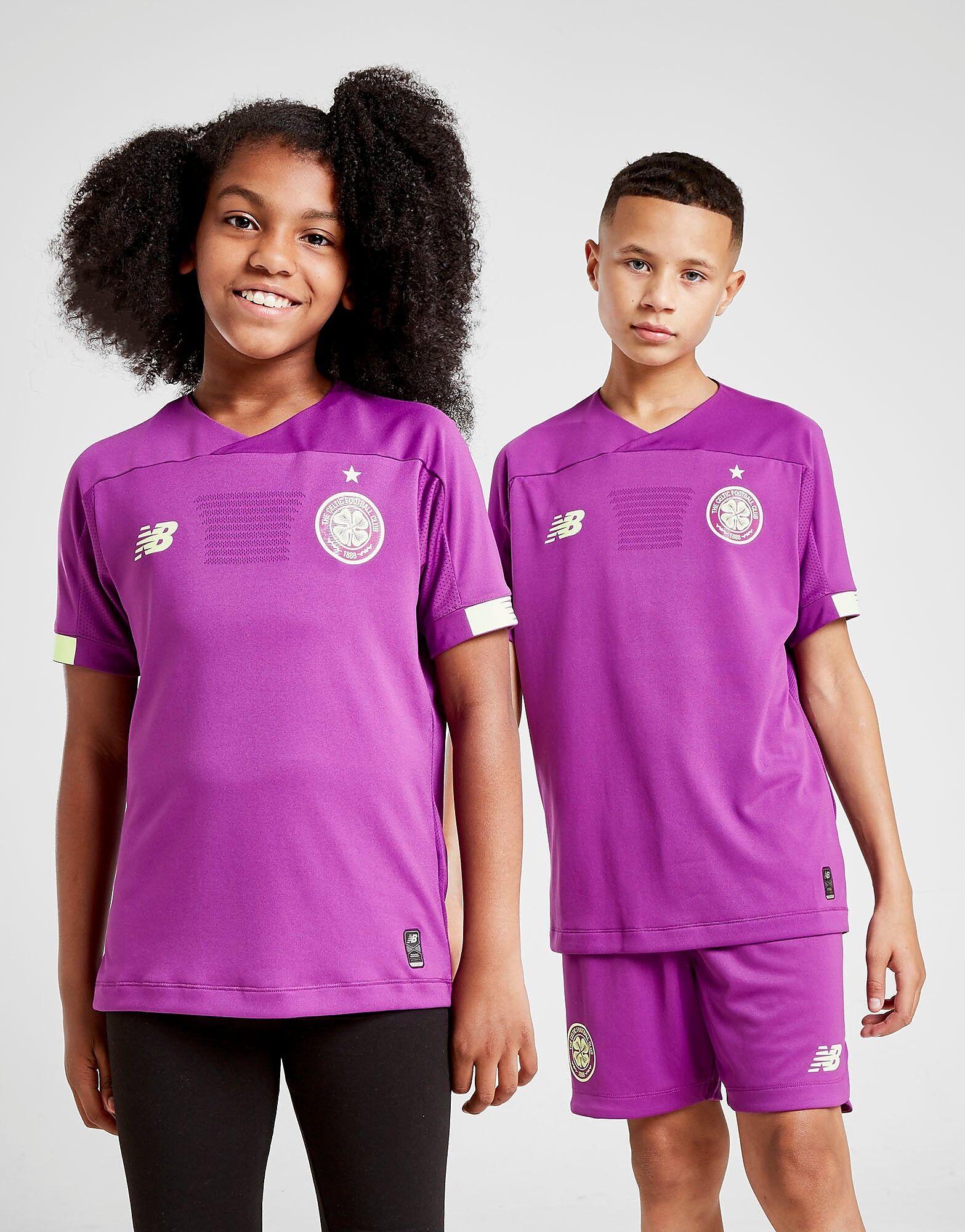 Image of New Balance Celtic FC 2019/20 Vieraspaita Maalivahti Juniorit - Kids, Violetti