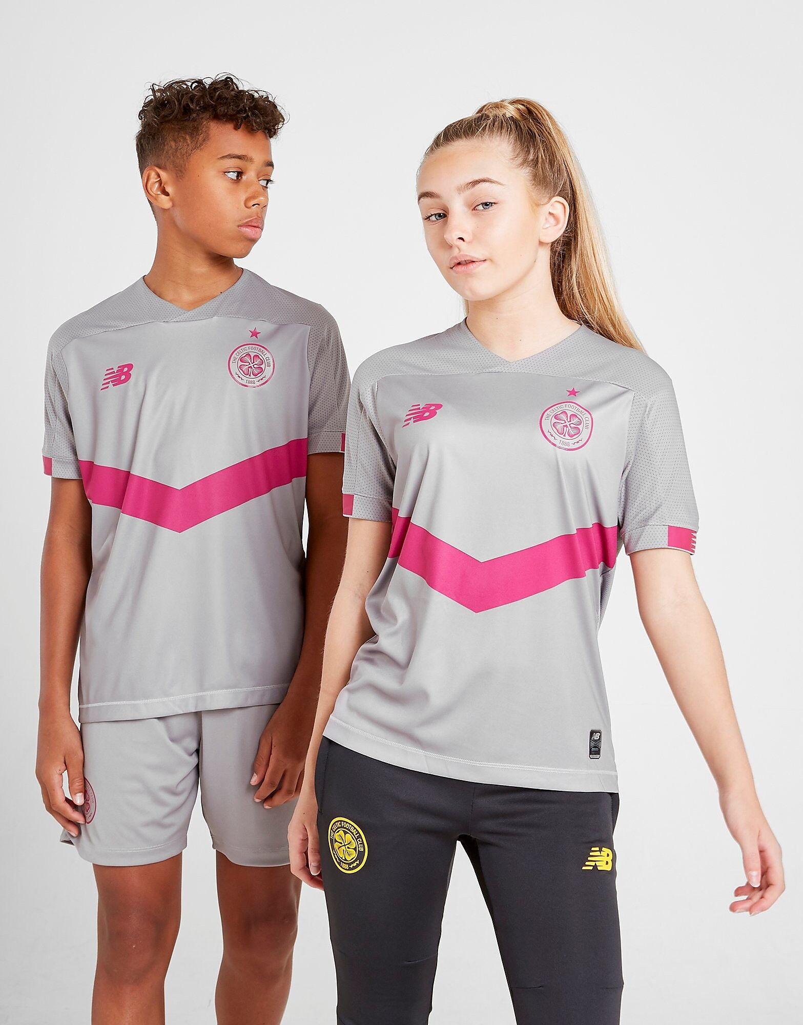 Image of New Balance Celtic FC 2019/20 Kolmas paita Juniorit - Kids, Harmaa