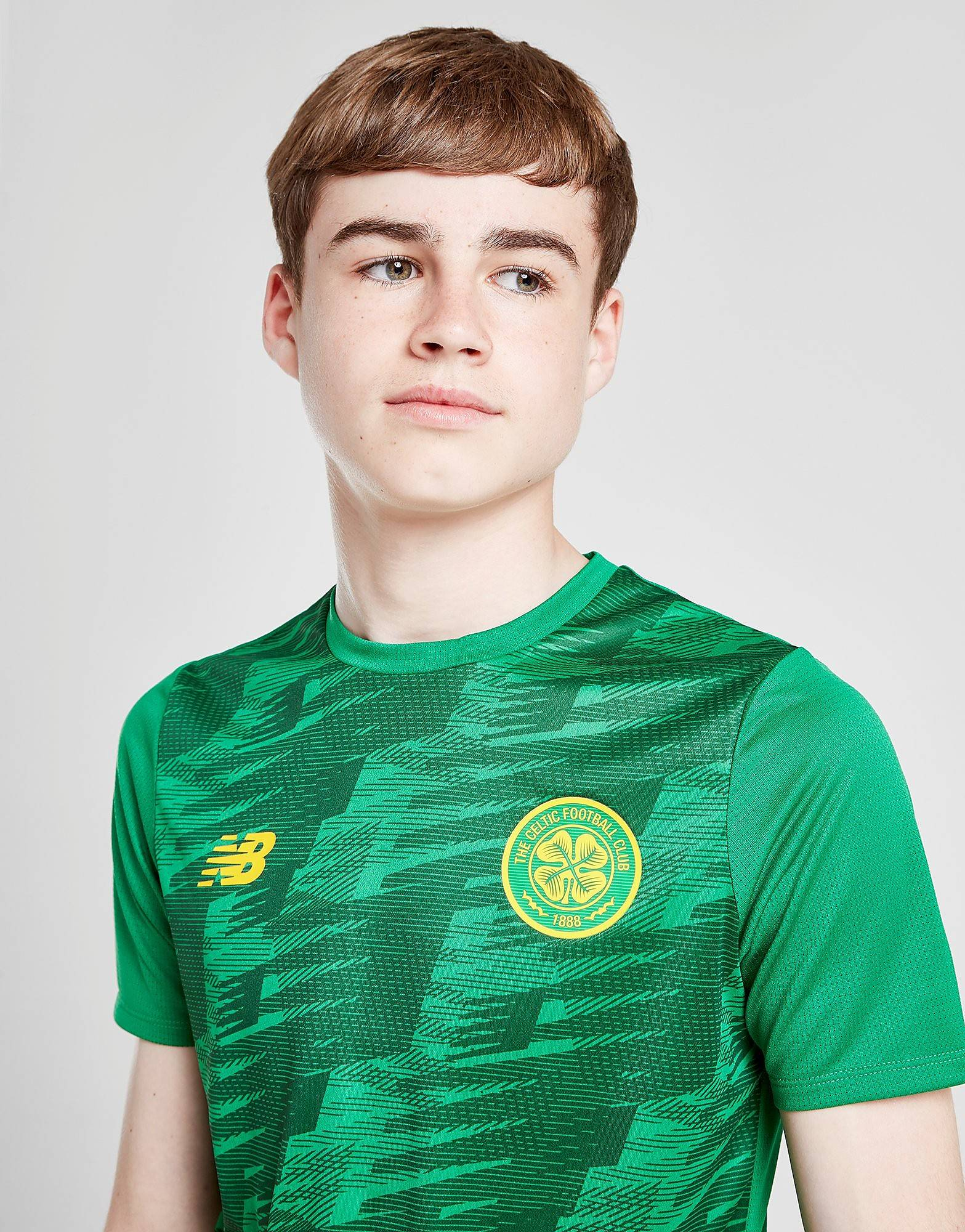 Image of New Balance Celtic FC Lightweight T-Shirt Junior - Kids, Vihreä
