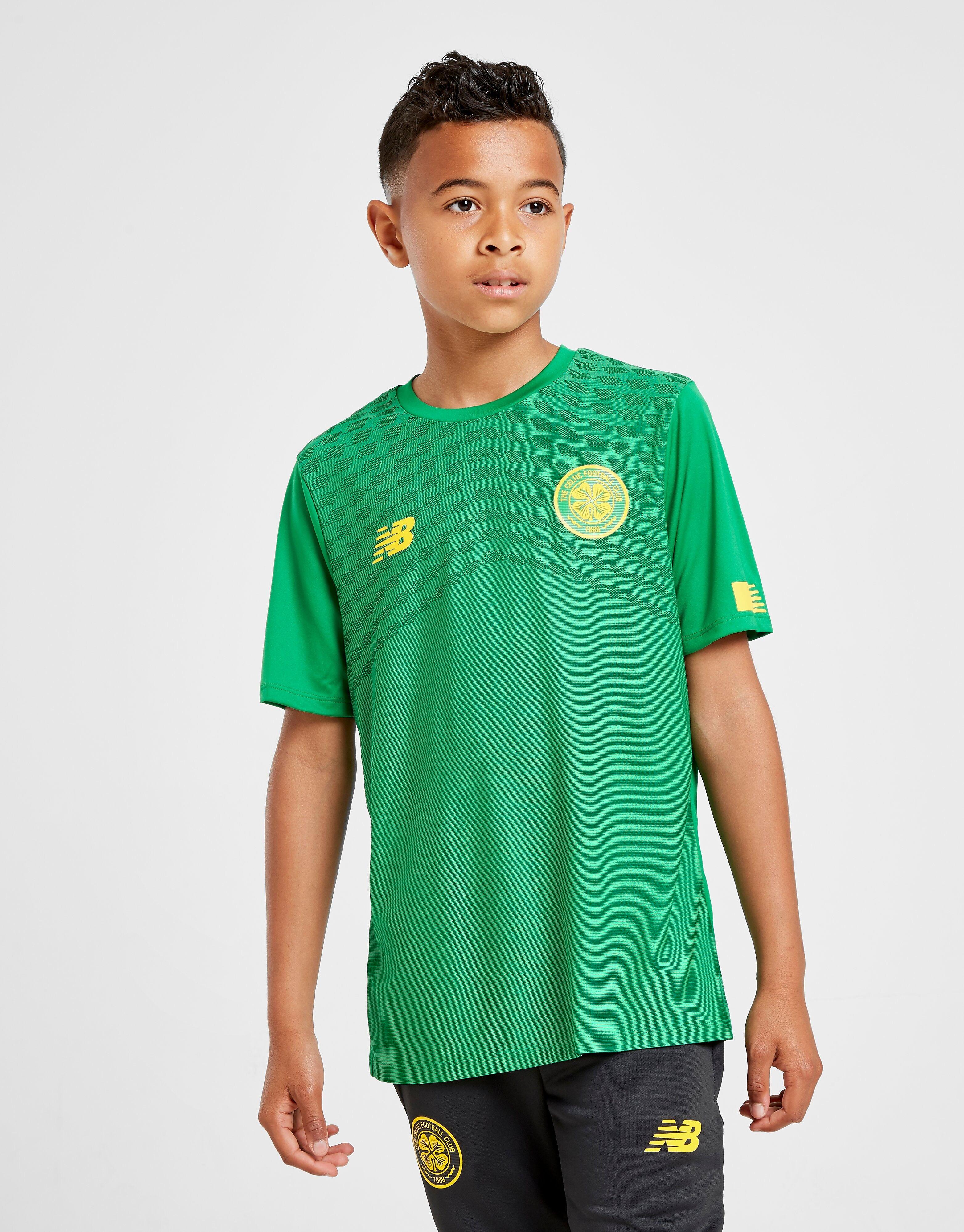 Image of New Balance Celtic FC Pre-Match Shirt Junior - Kids, Vihreä