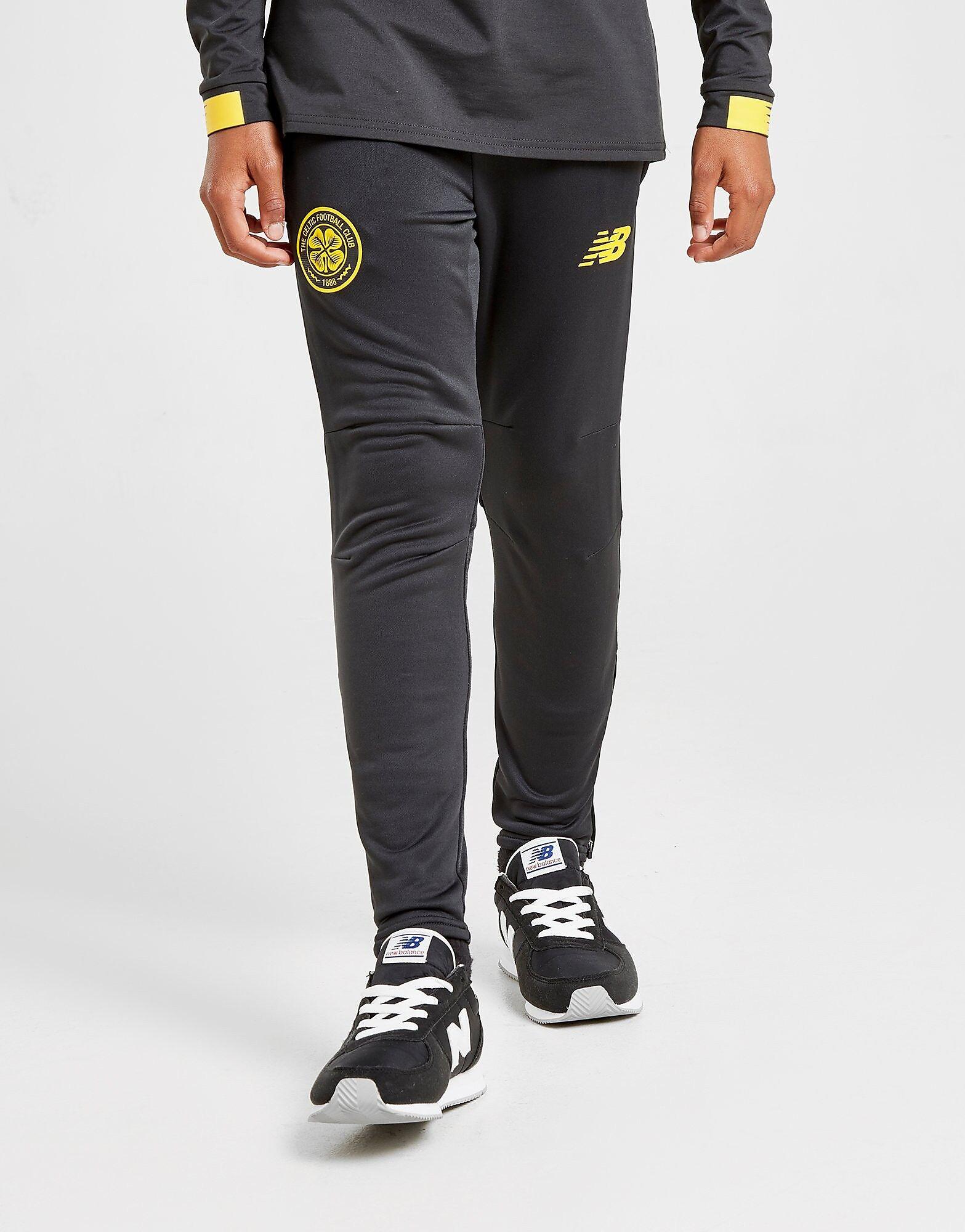 Image of New Balance Celtic FC Slim Track Pants Junior - Kids, Musta