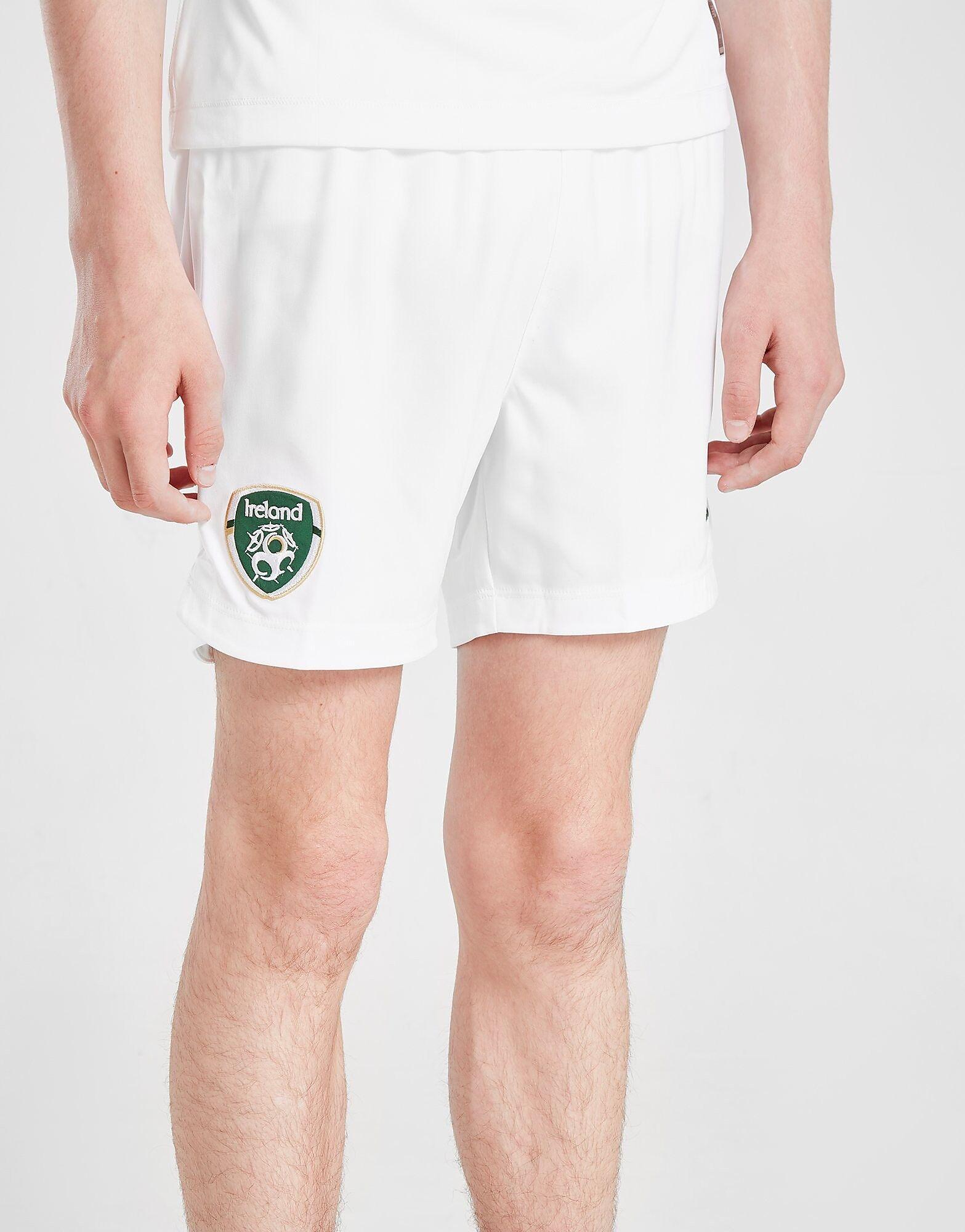 Image of New Balance Republic of Ireland 2019/20 Away Shorts Junior - Kids, Valkoinen